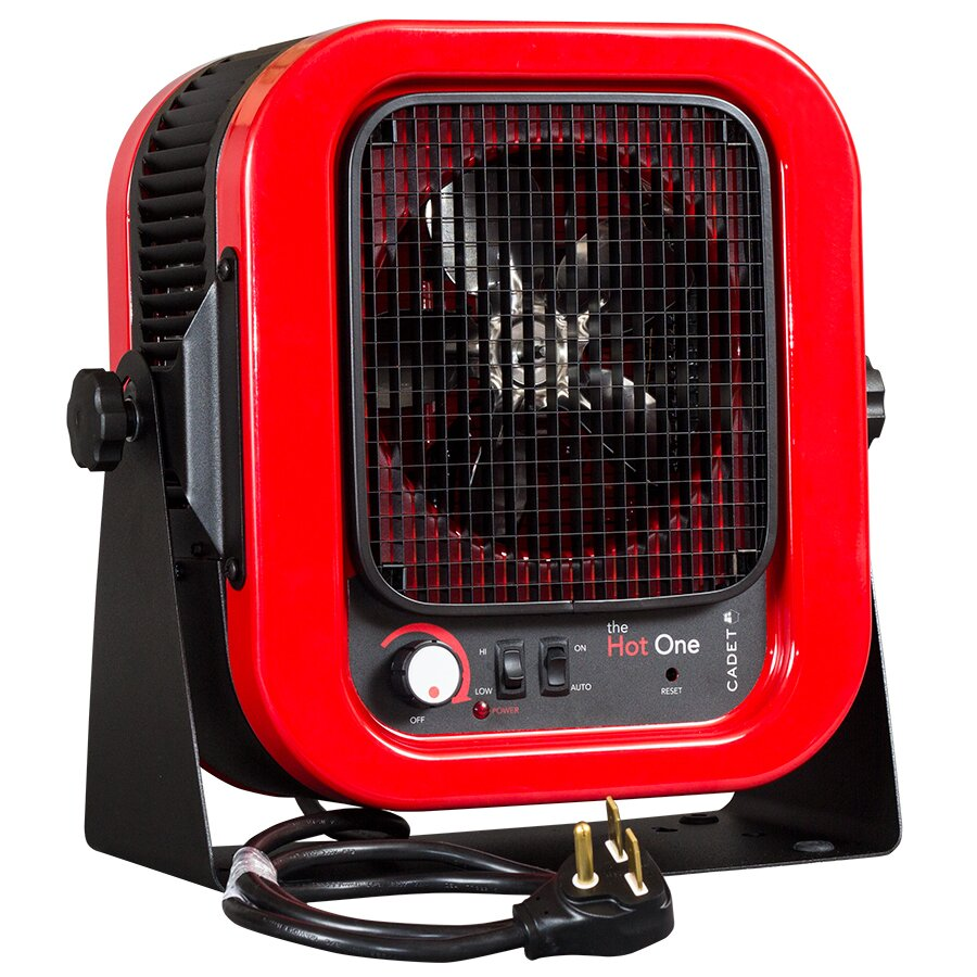 Cadet 5,000 Watt Portable Electric Garage Heater & Reviews ...
