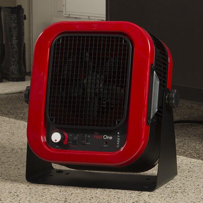 Cadet 5,000 Watt Portable Electric Garage Heater & Reviews ...