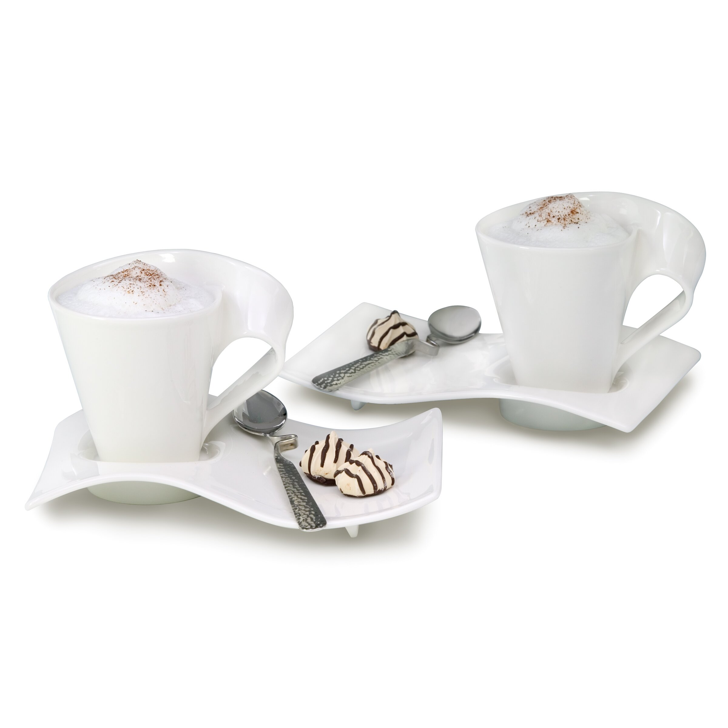 Villeroy boch new wave caffe 6 piece coffee set for Villeroy boch wave
