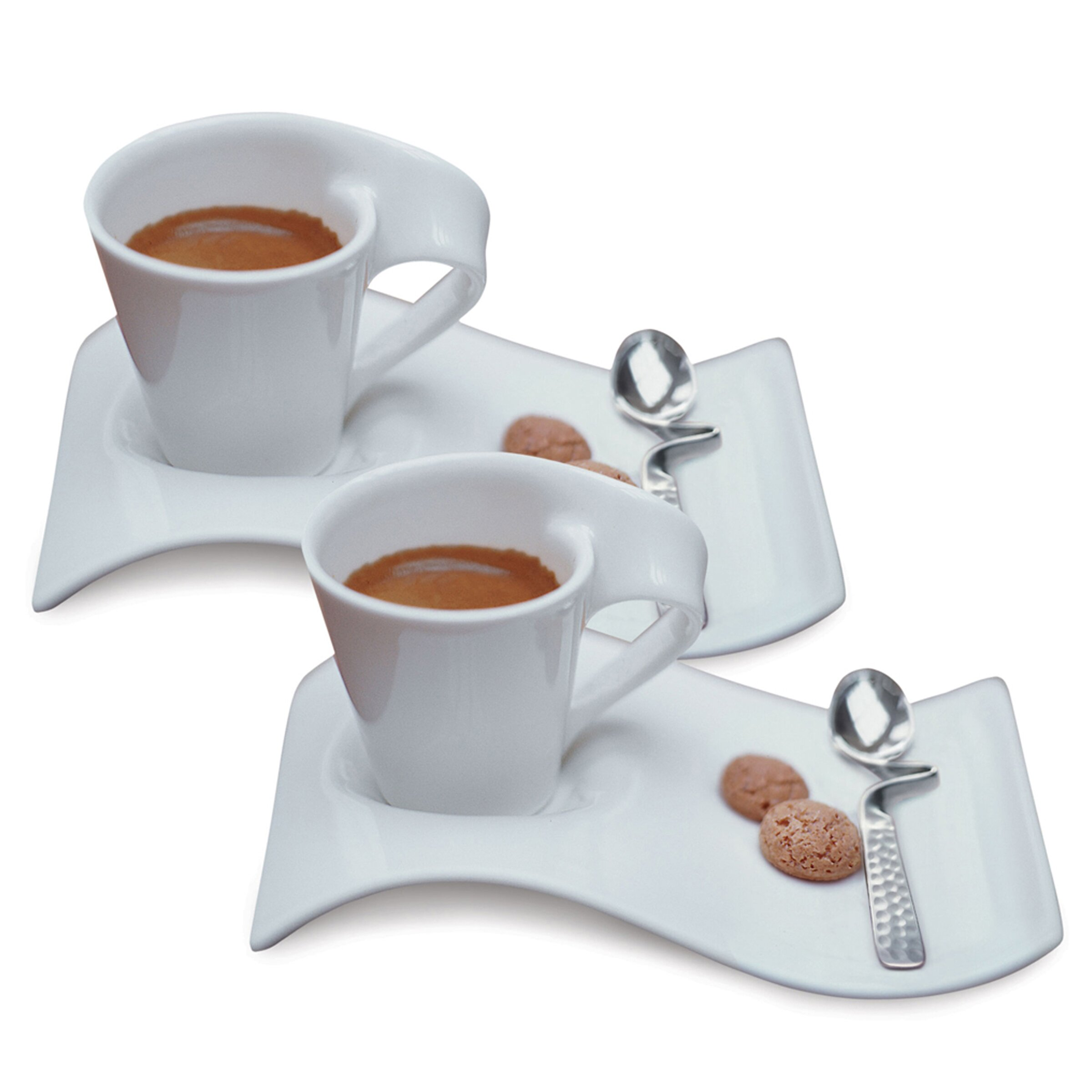villeroy boch new wave caffe 6 piece espresso set. Black Bedroom Furniture Sets. Home Design Ideas