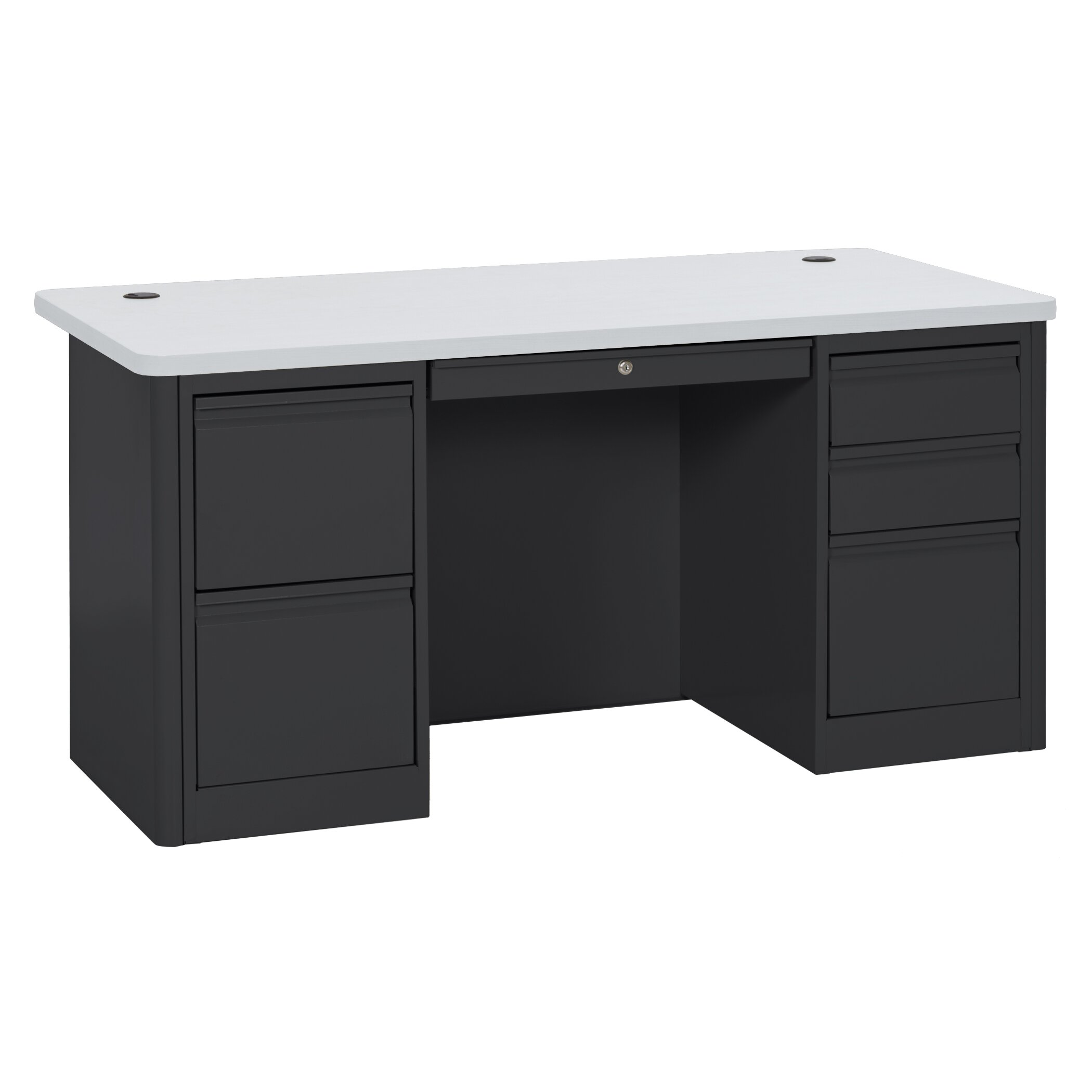 Sandusky 900 Series 29 5 Quot Double Pedestal Desk Amp Reviews