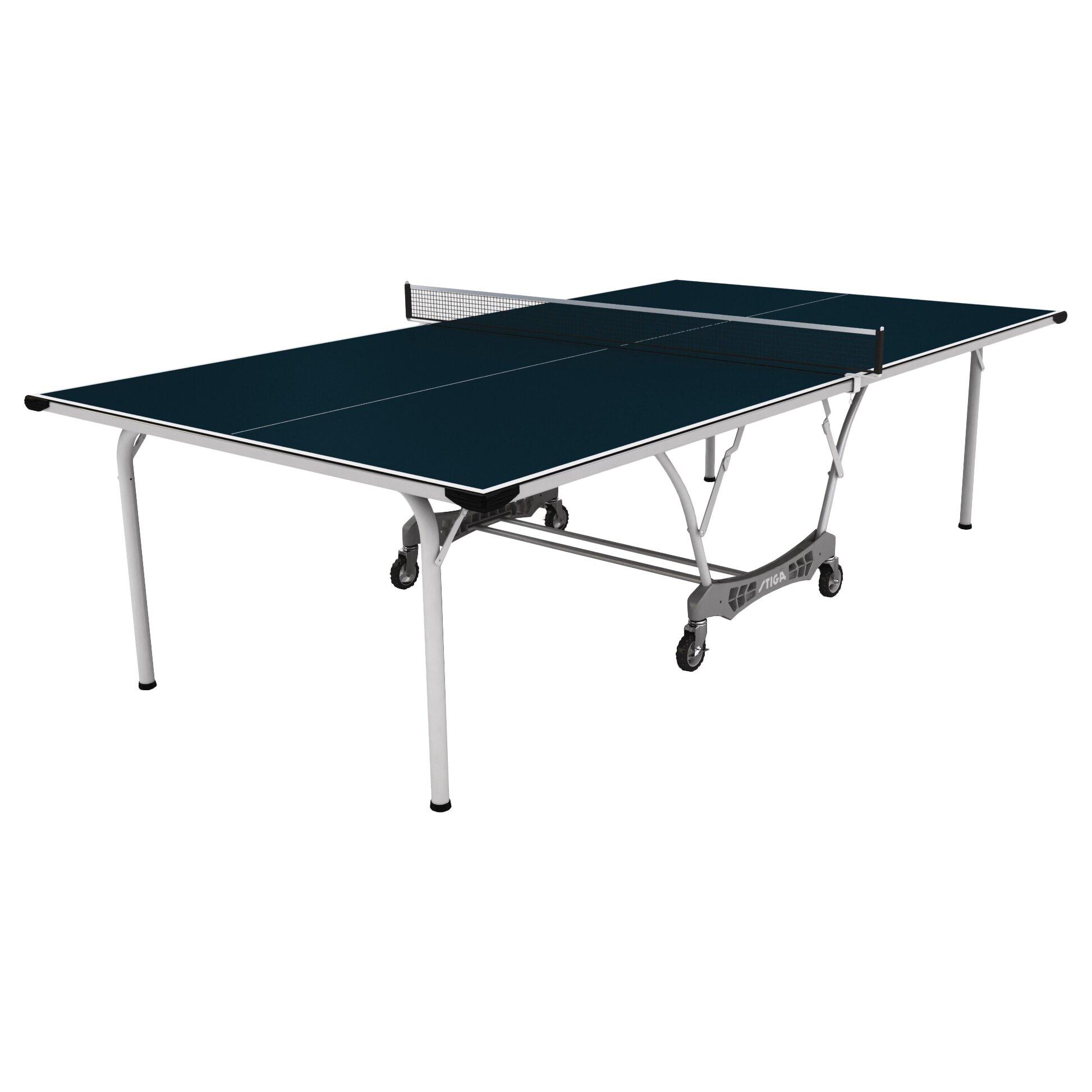 Stiga coronado 9 39 indoor outdoor table tennis table wayfair - Used outdoor table tennis tables for sale ...