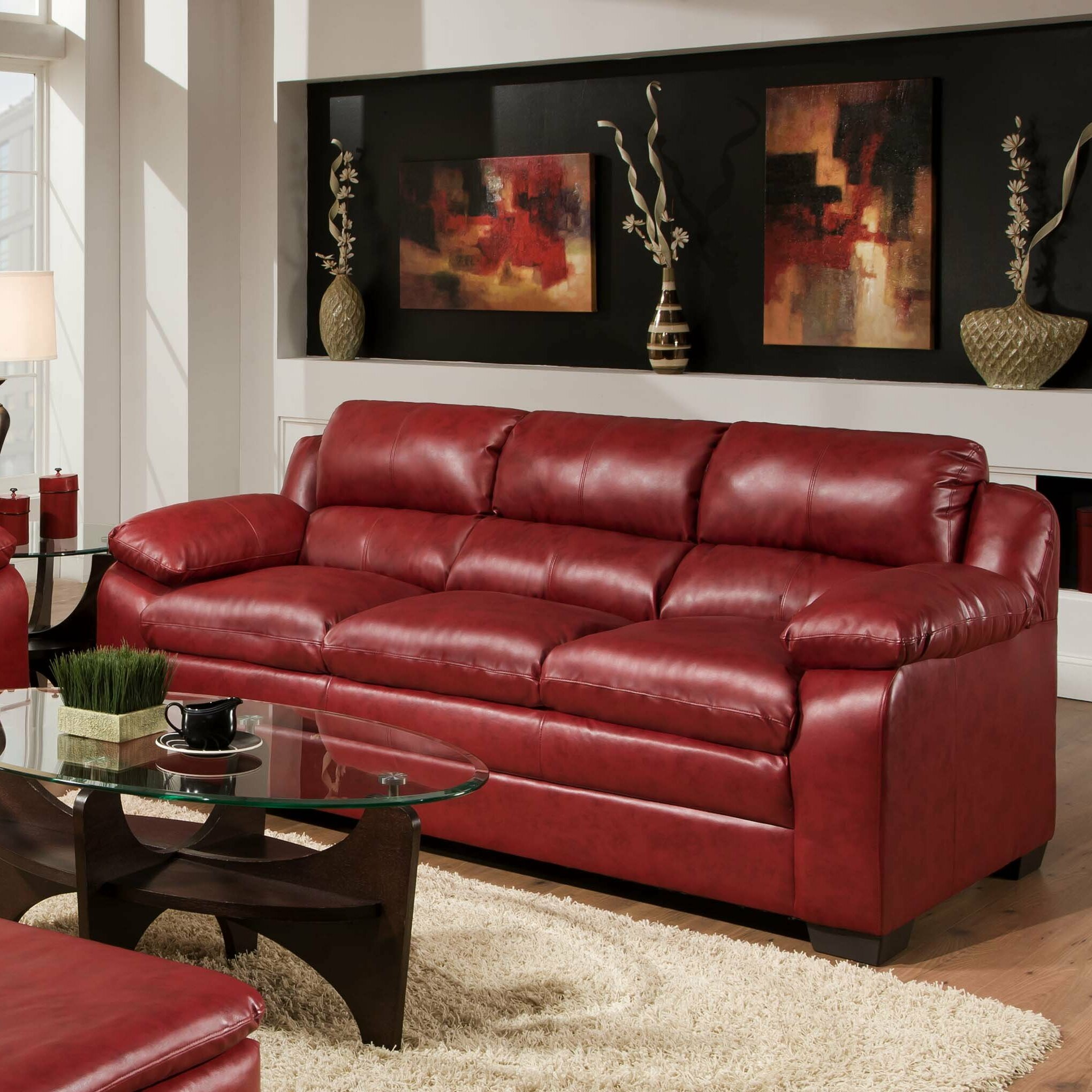 Simmons upholstery soho sofa reviews wayfair for Simmons living room furniture