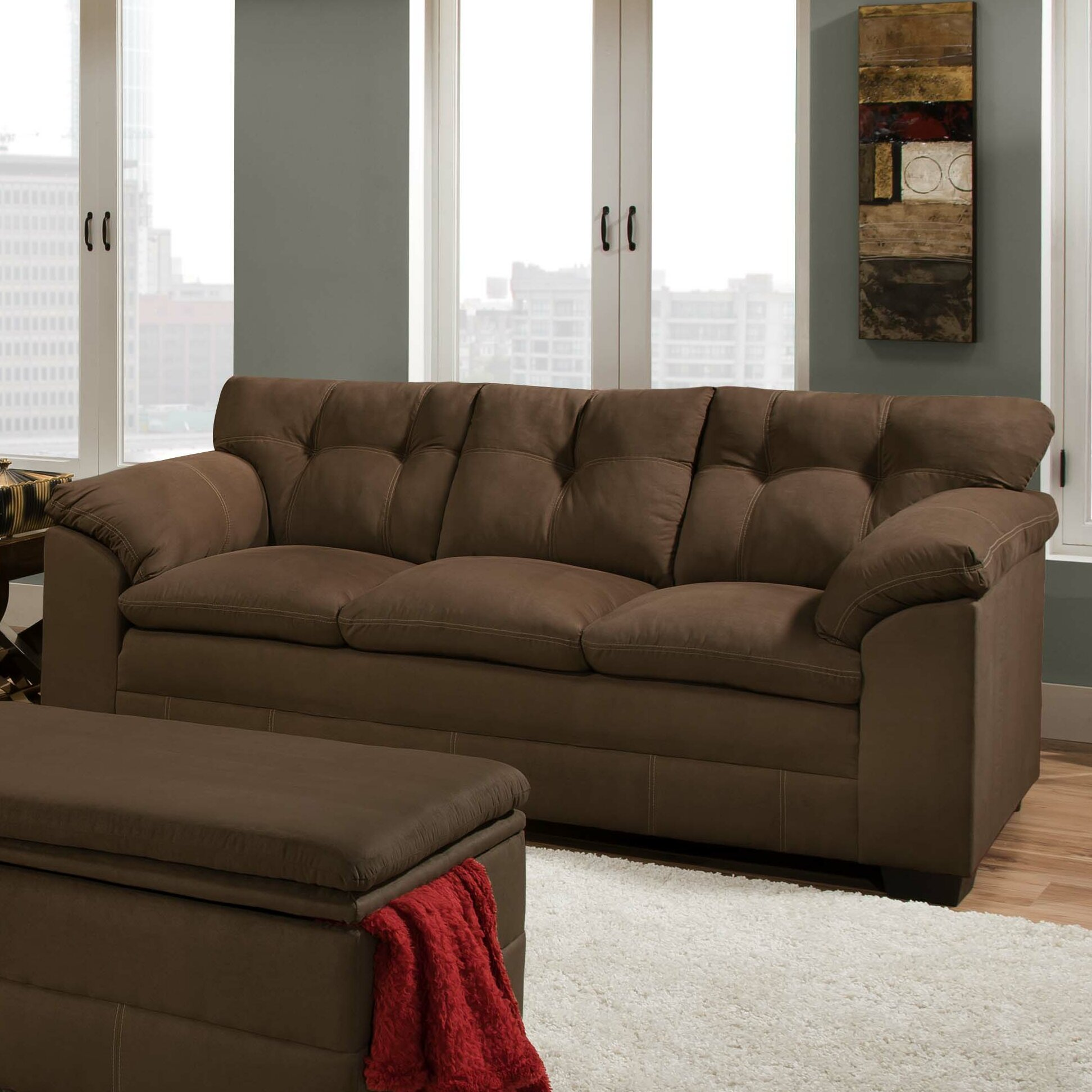 Simmons Upholstery Velocity Sofa Reviews Wayfair