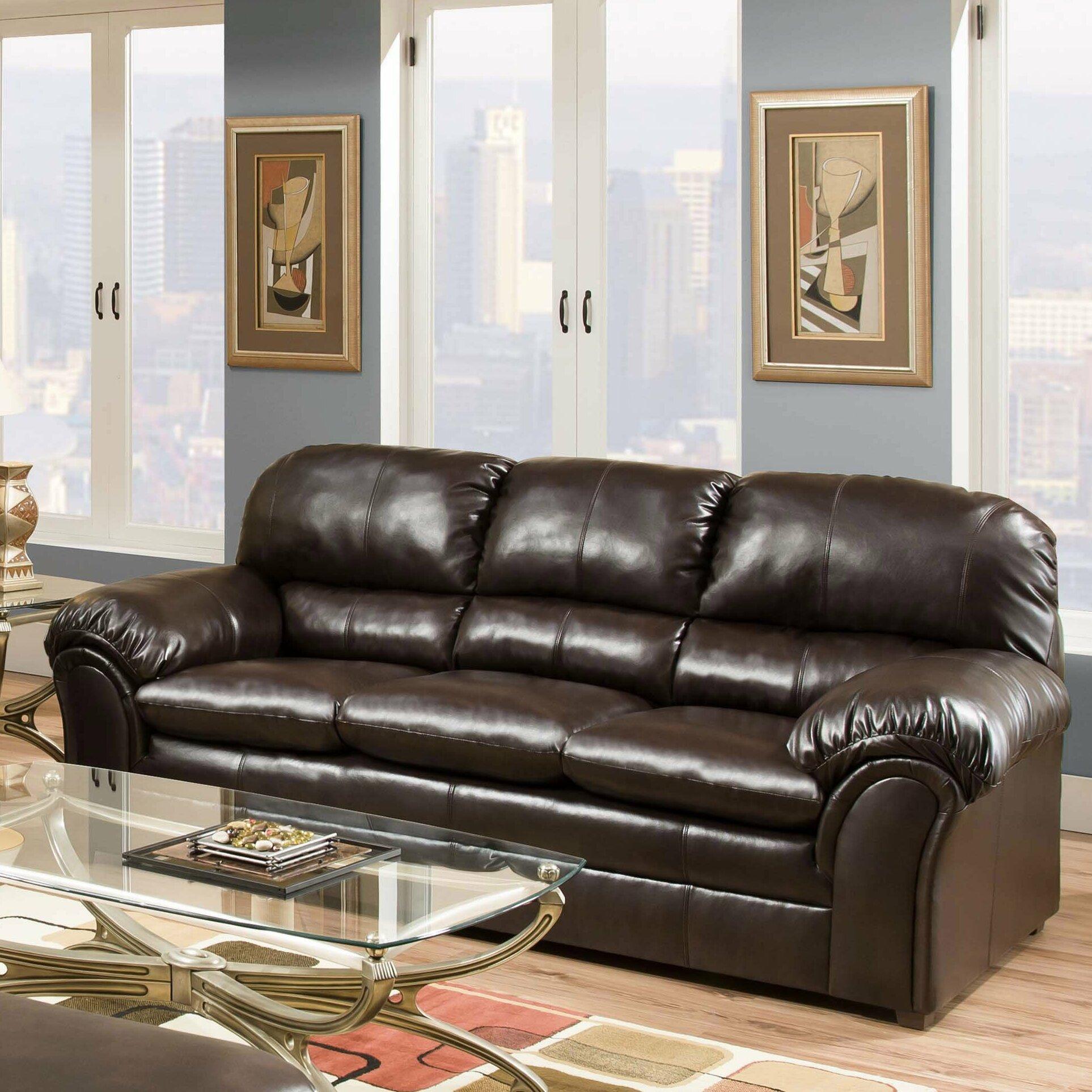 Simmons Upholstery Riverside Sofa Amp Reviews Wayfair
