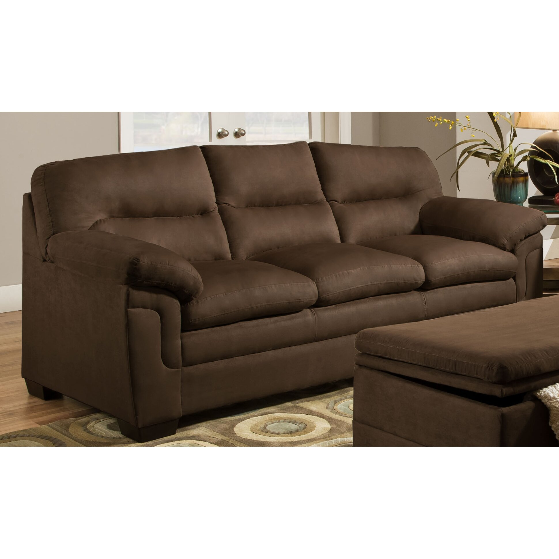 Simmons Upholstery Luna Sofa I Wayfair