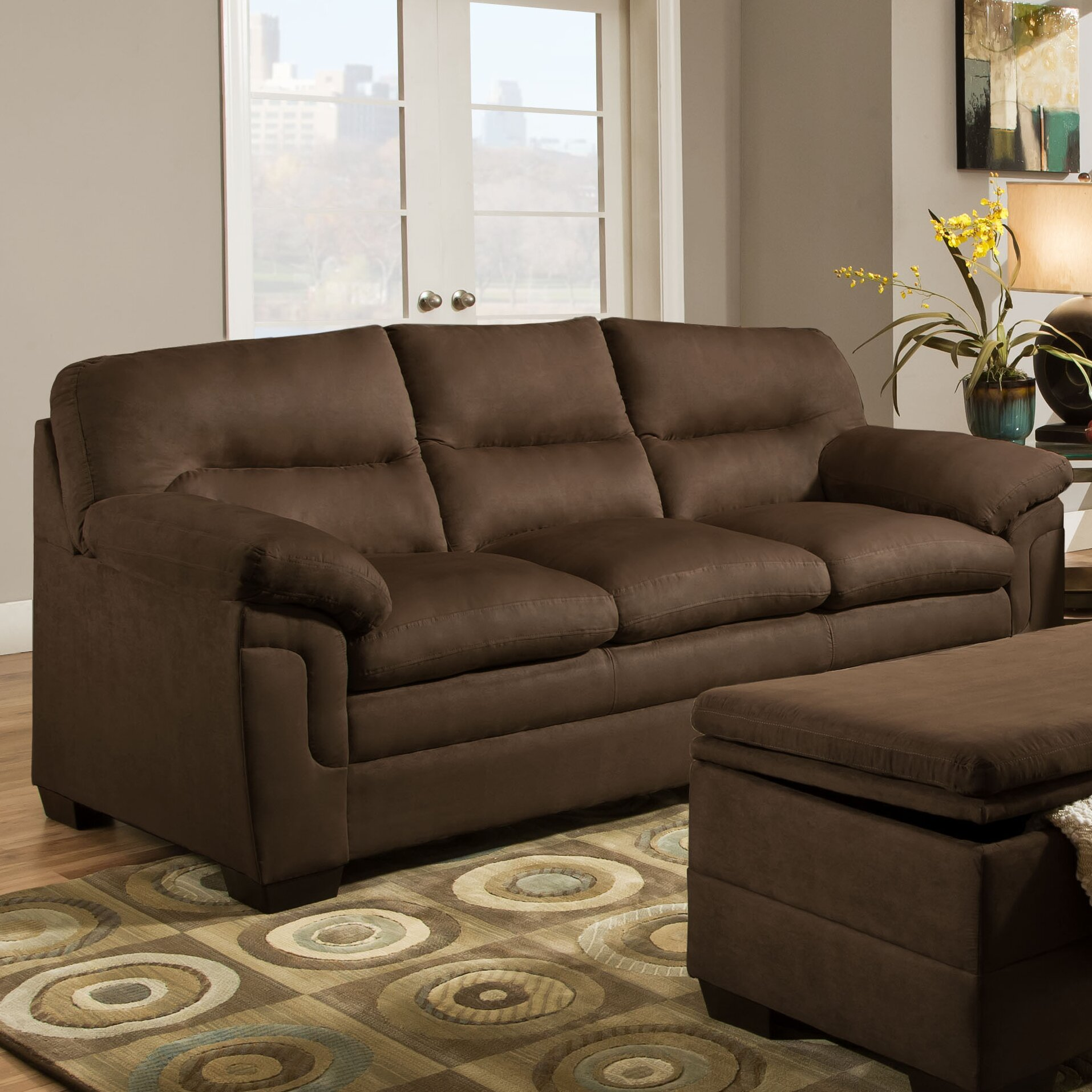 Simmons upholstery luna living room collection reviews for Simmons living room furniture