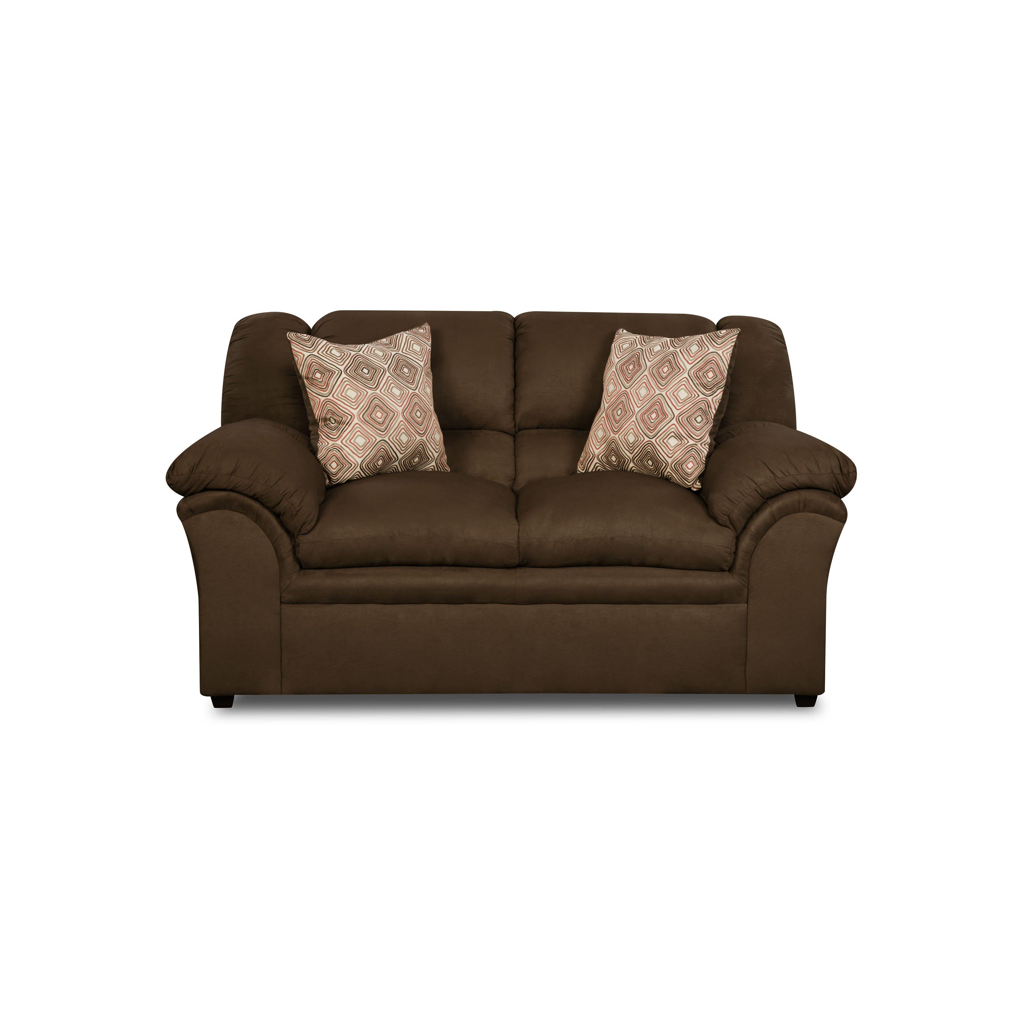 Simmons Upholstery Venture Loveseat Reviews Wayfair