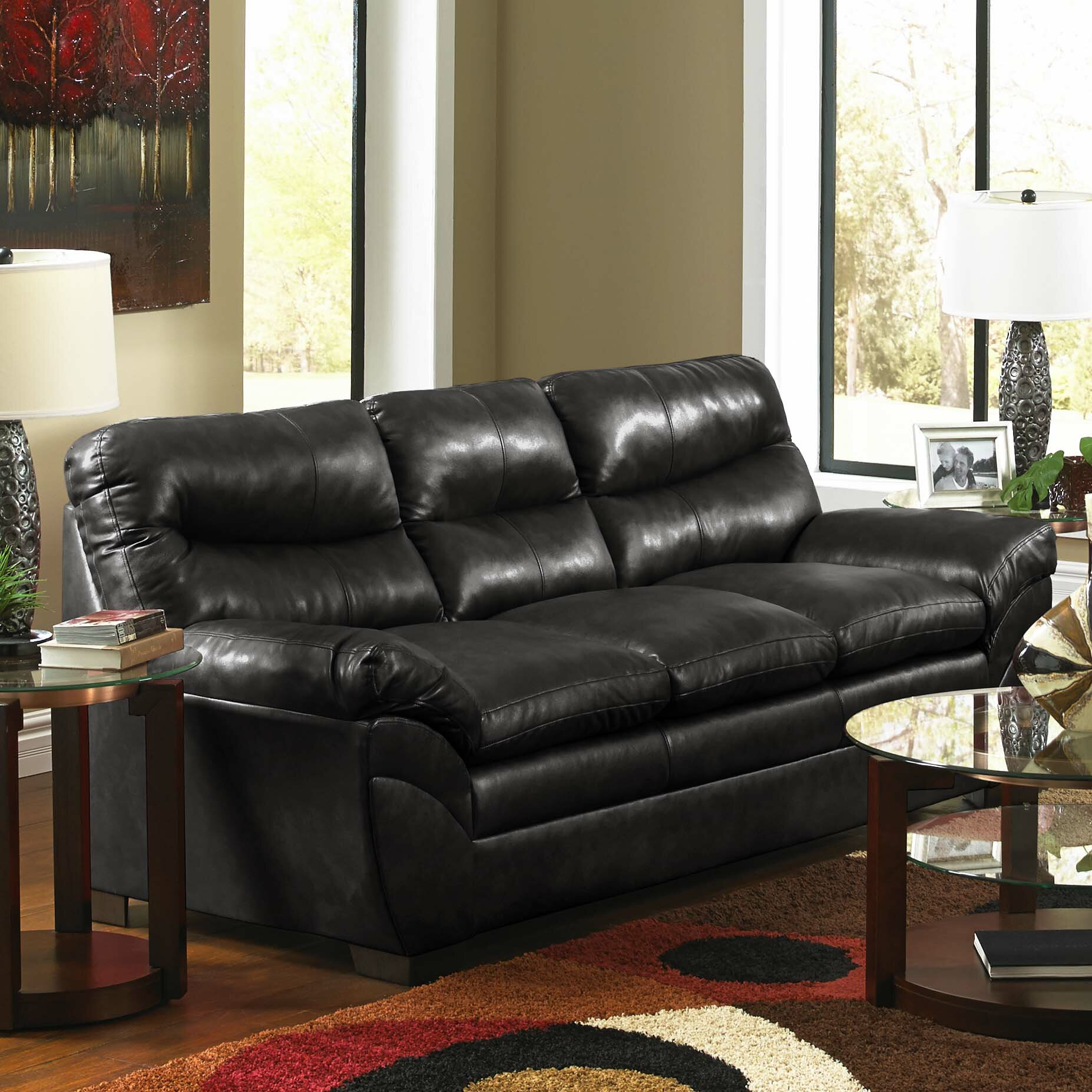 17 Wayfair Soho Leather Sofa