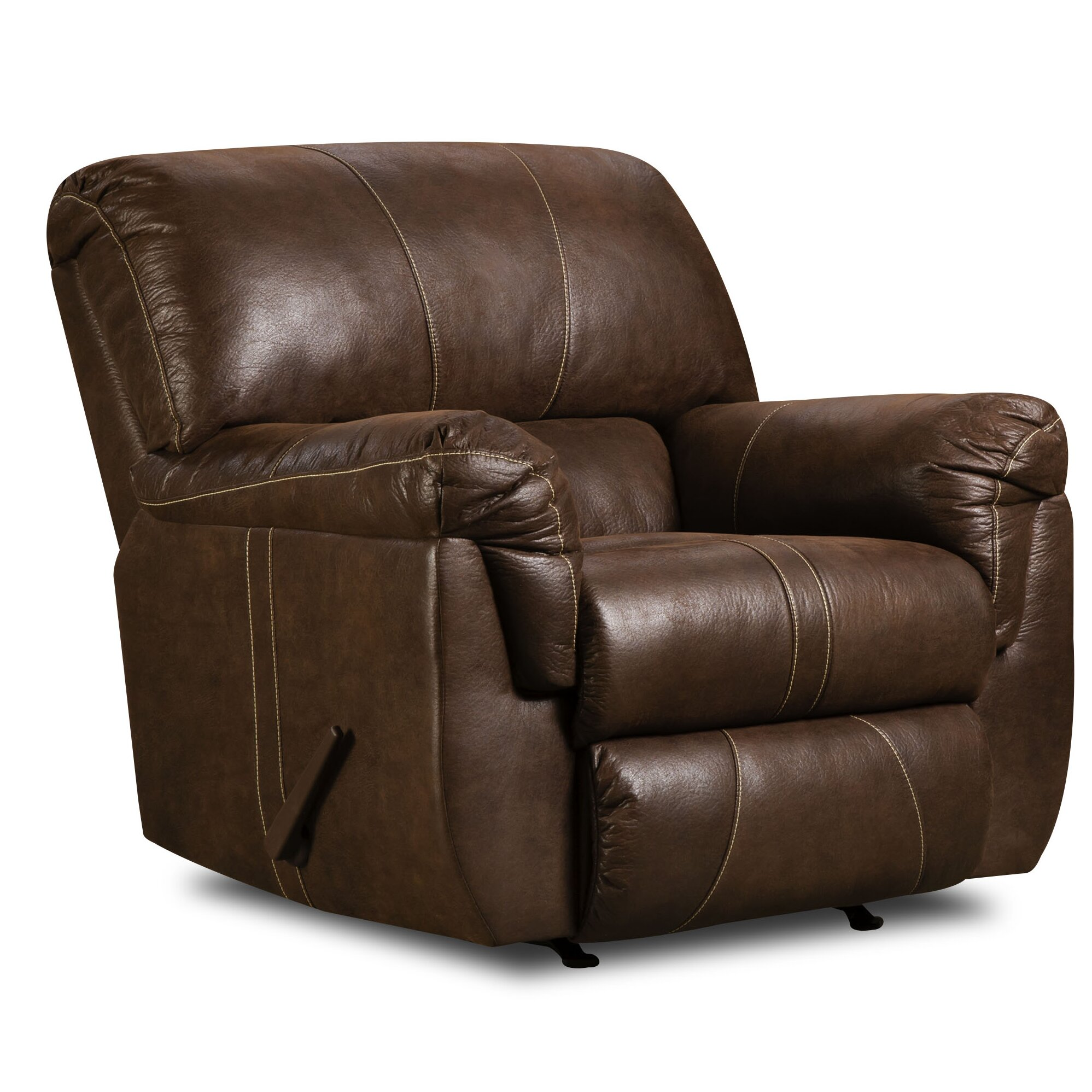 Simmons Upholstery Renegade Beautyrest Rocker Recliner