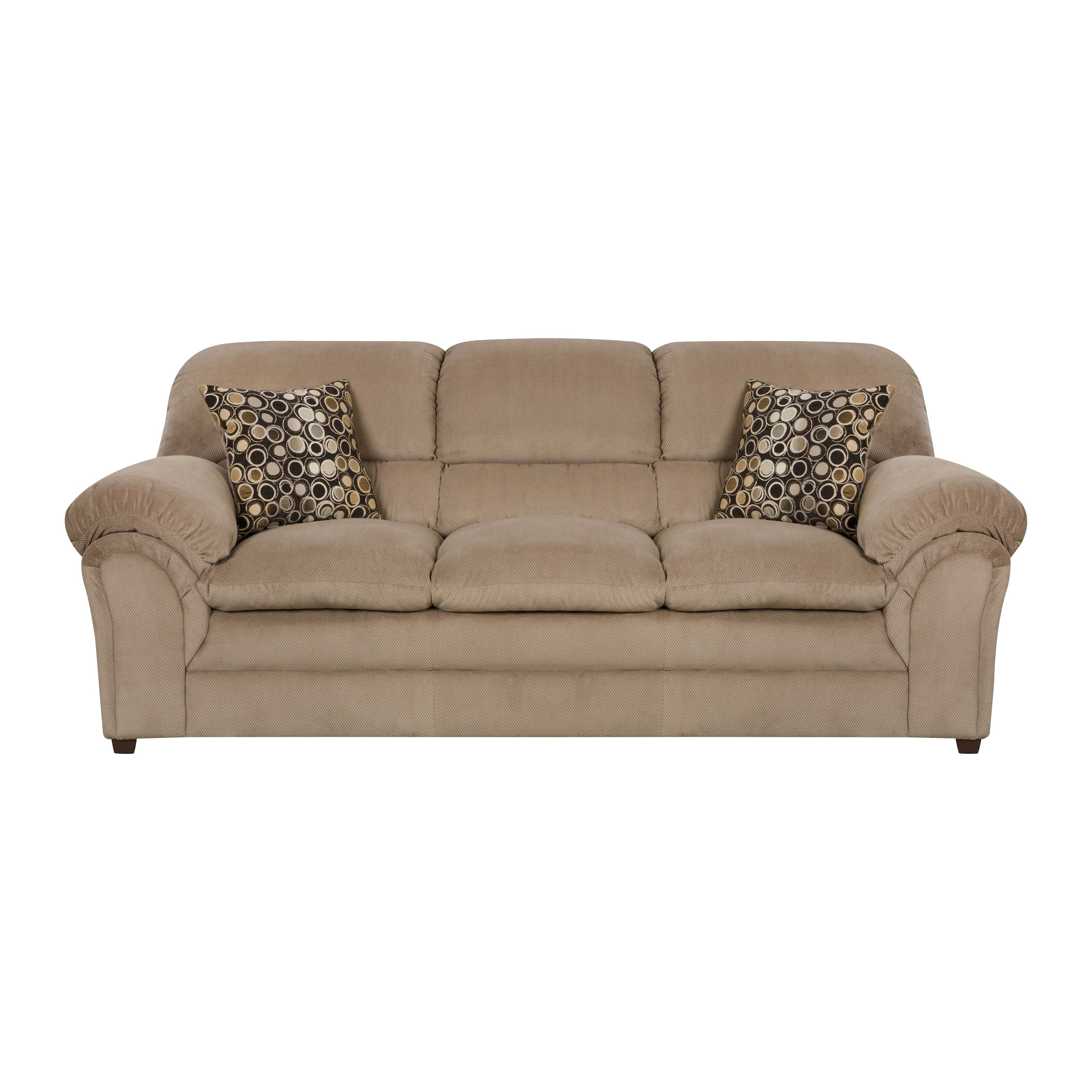 Simmons upholstery harper sofa reviews wayfair for Sofa upholstery