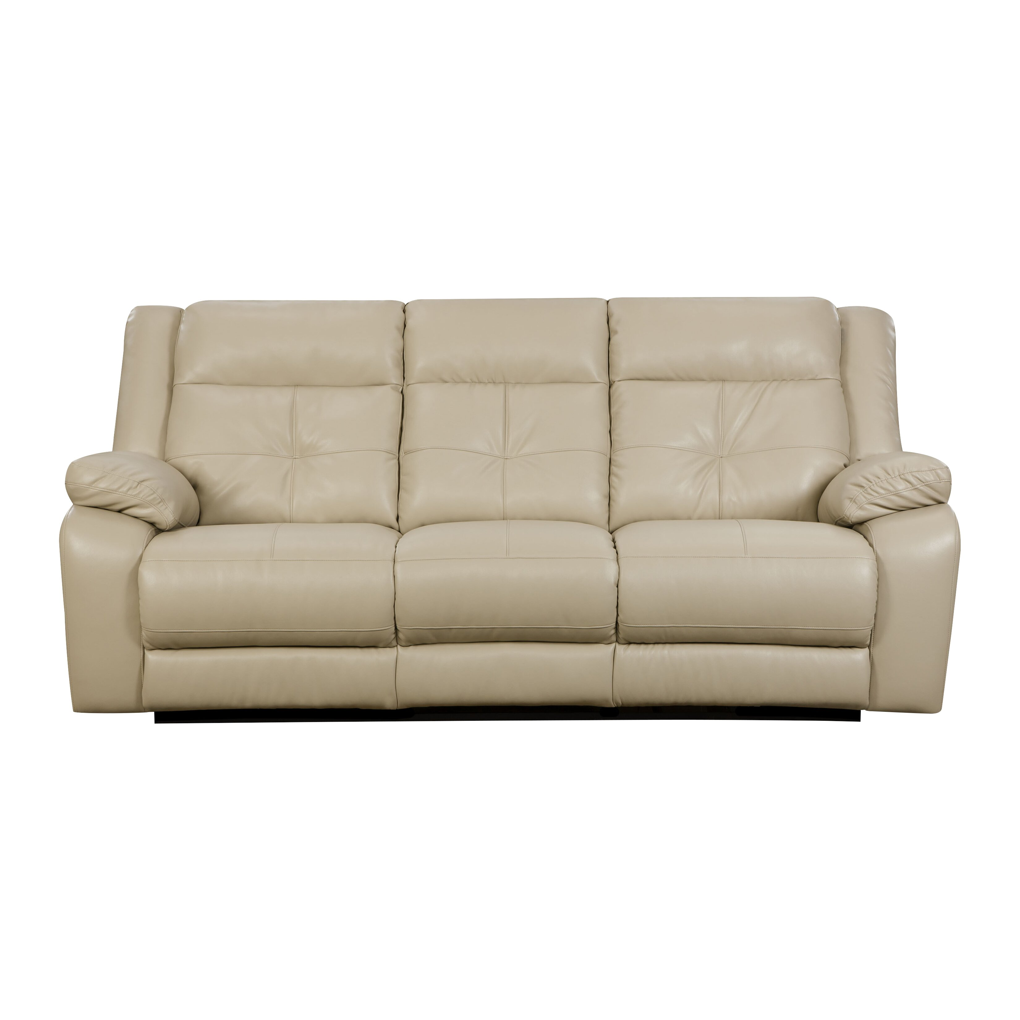 Simmons Upholstery Miracle Pearl Double Motion Sofa