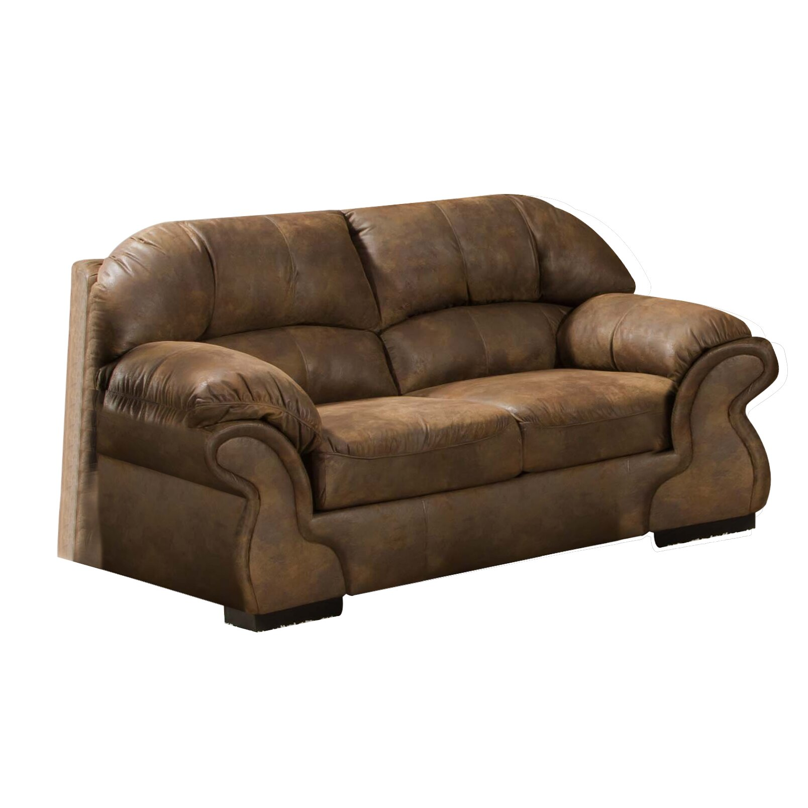 Simmons Upholstery Pinto Loveseat Reviews Wayfair
