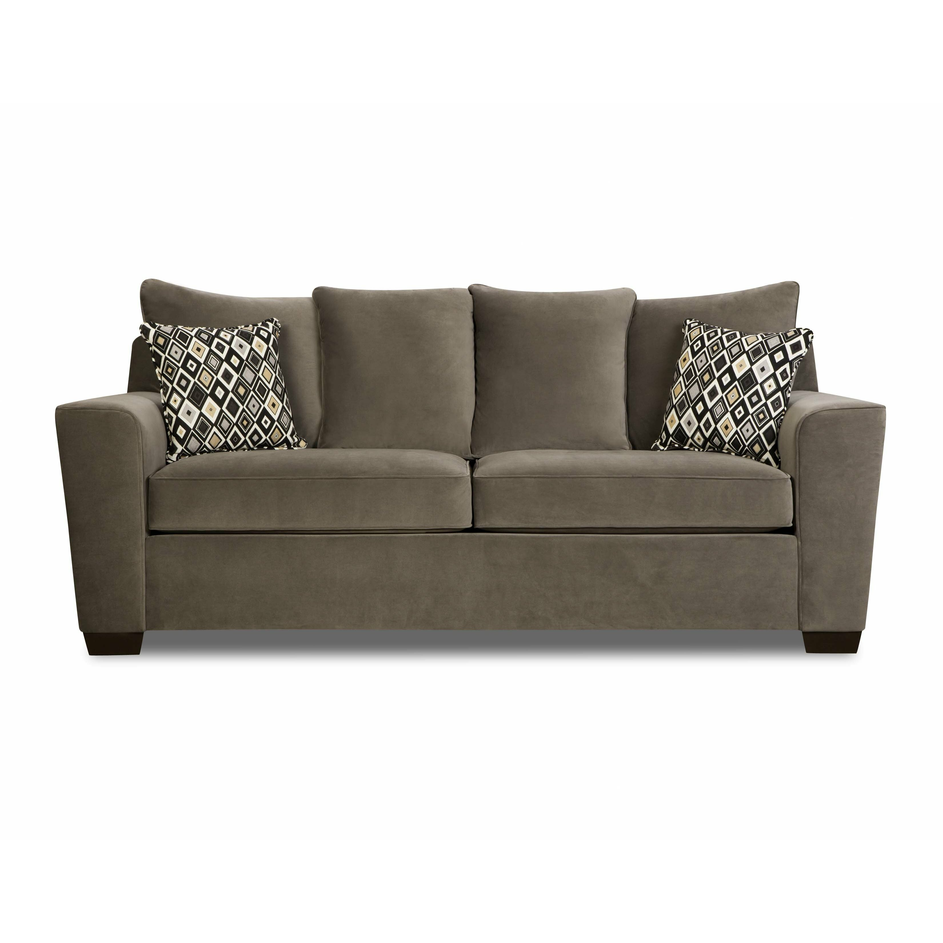 Simmons upholstery roxanne queen sleeper sofa reviews for Sofa upholstery