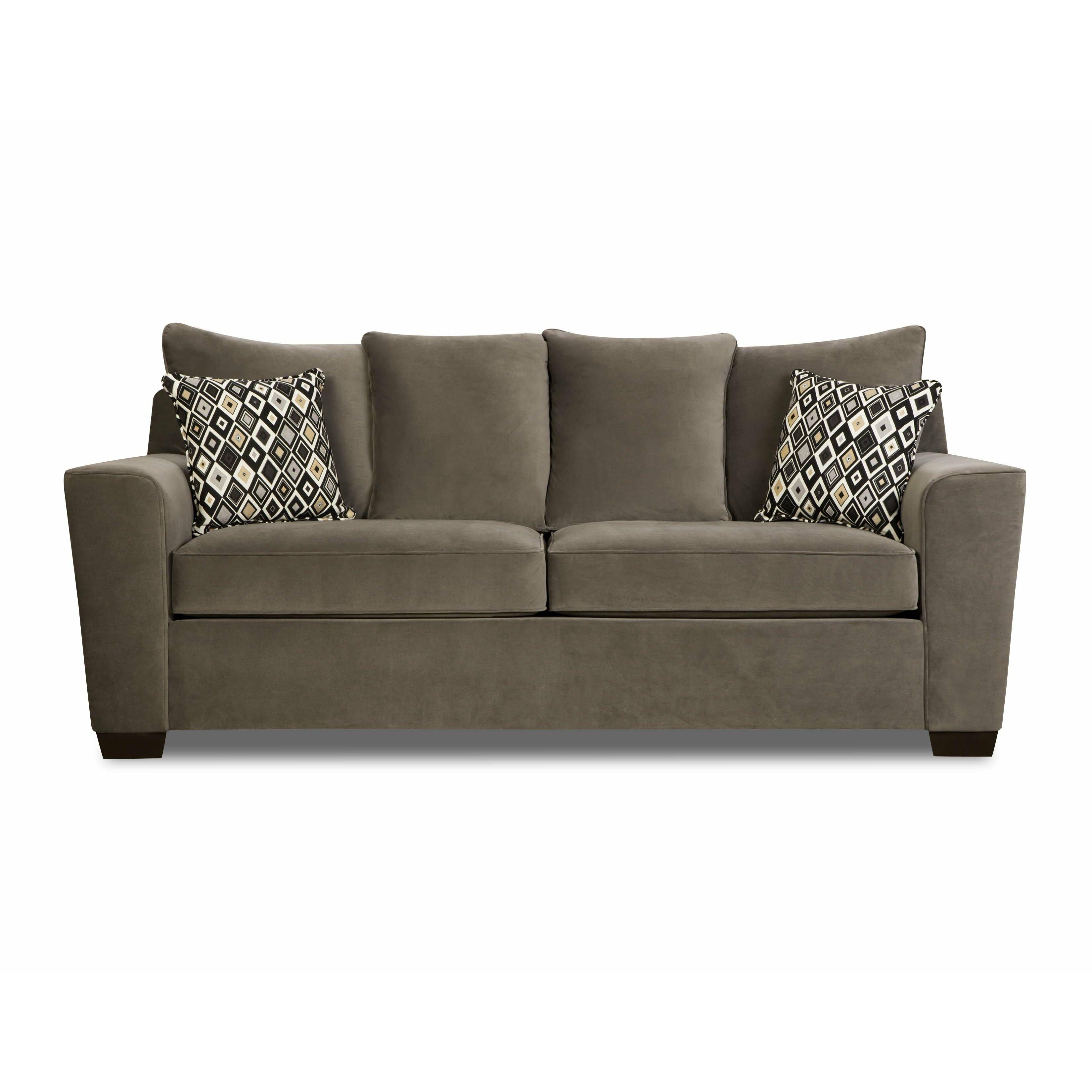 Simmons upholstery roxanne queen sleeper sofa reviews for Sleeper sofas
