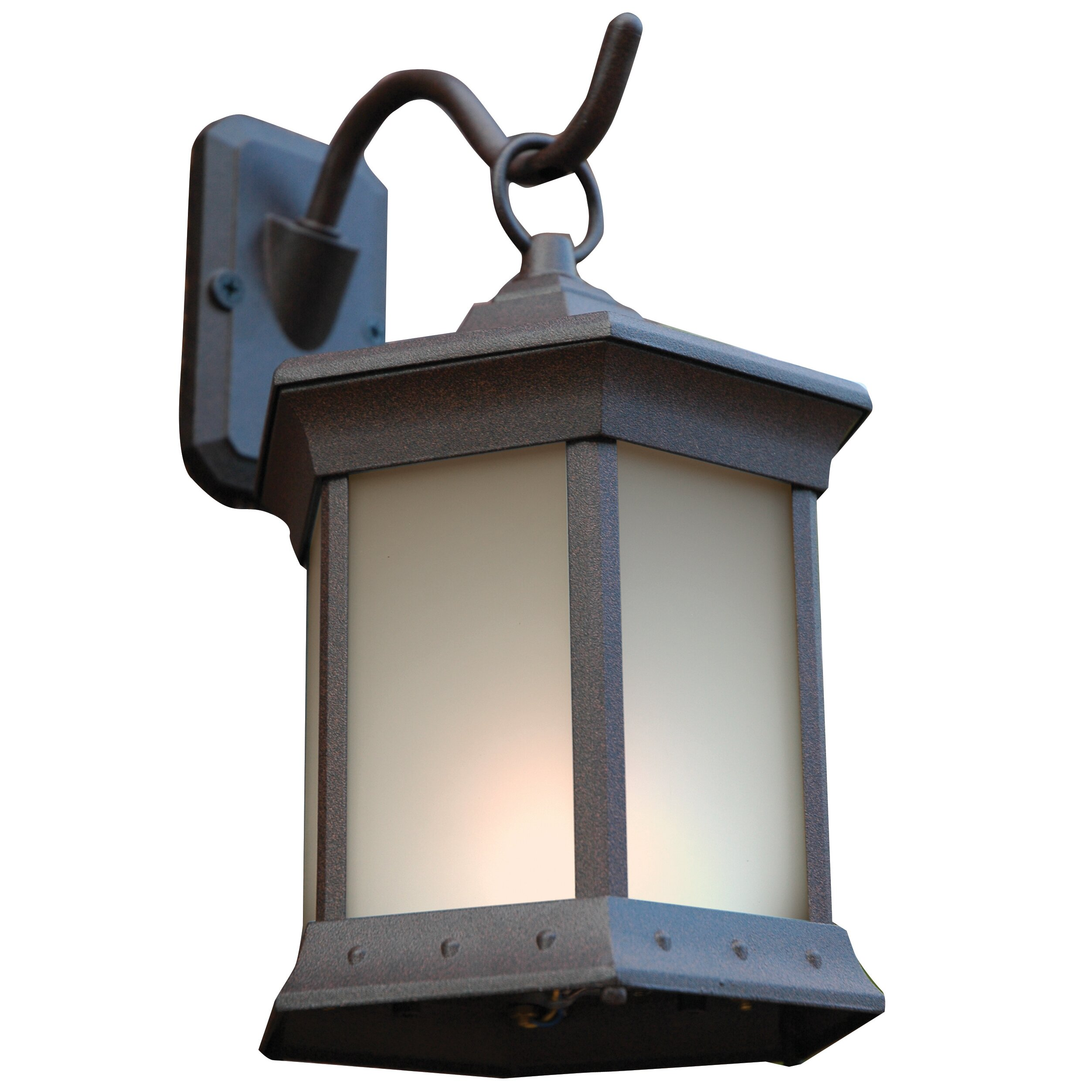 The outdoor greatroom company 2 light outdoor wall lantern for Outdoor lighting companies