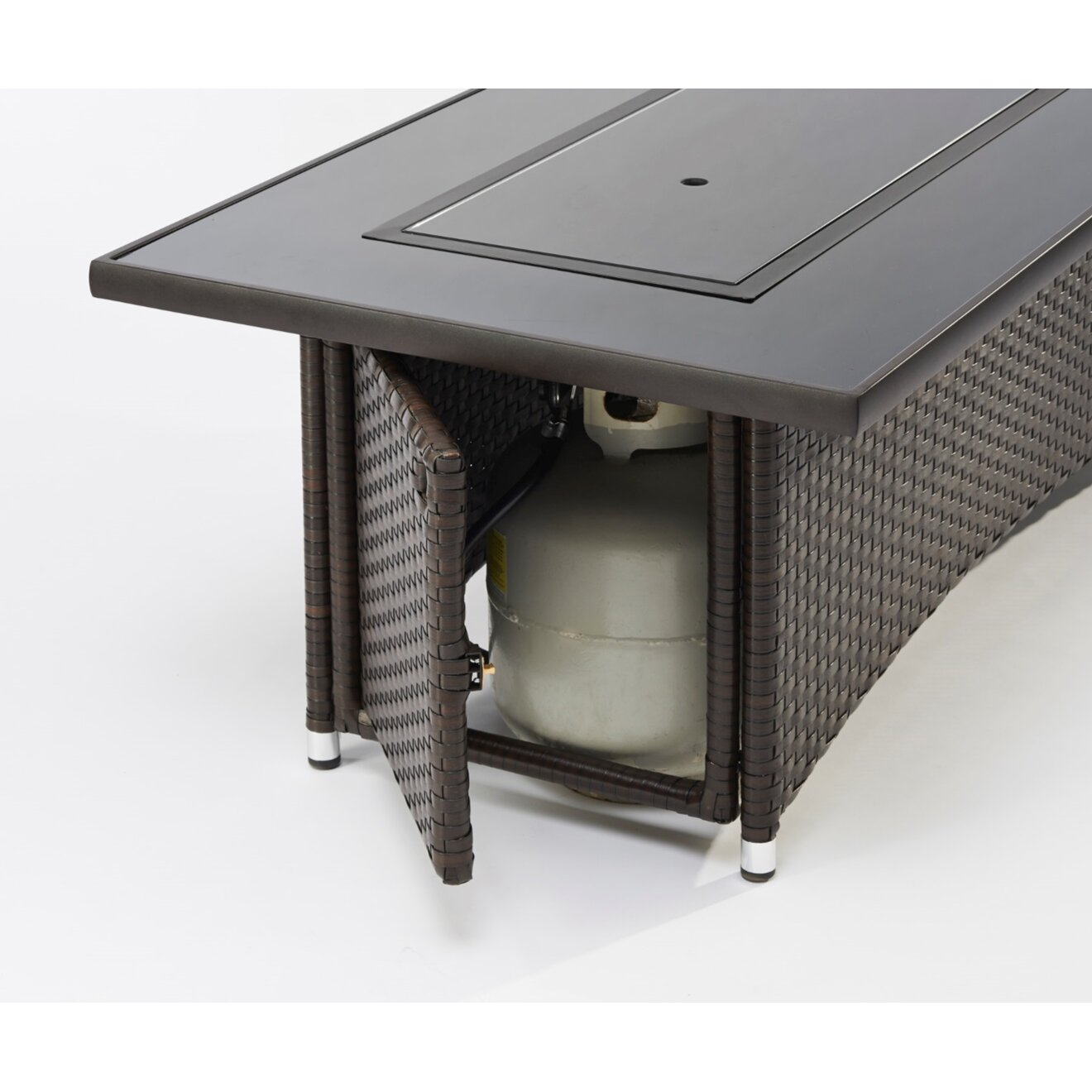 The Outdoor Greatroom Company Montego Crystal Fire Pit