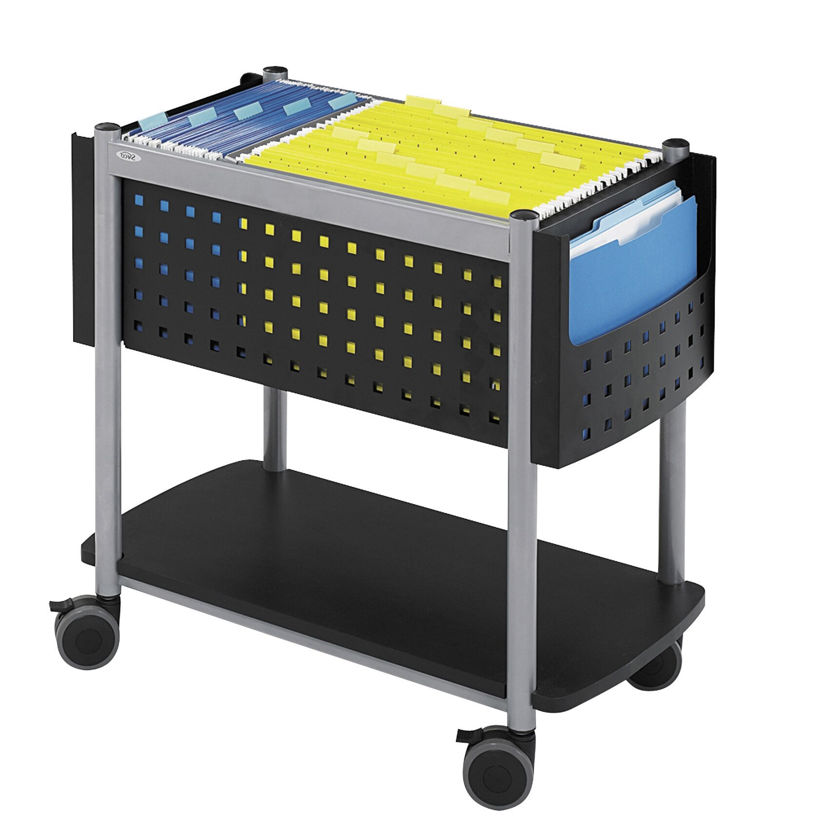 Safco Products Scoot Open Top Mobile File Cart Amp Reviews