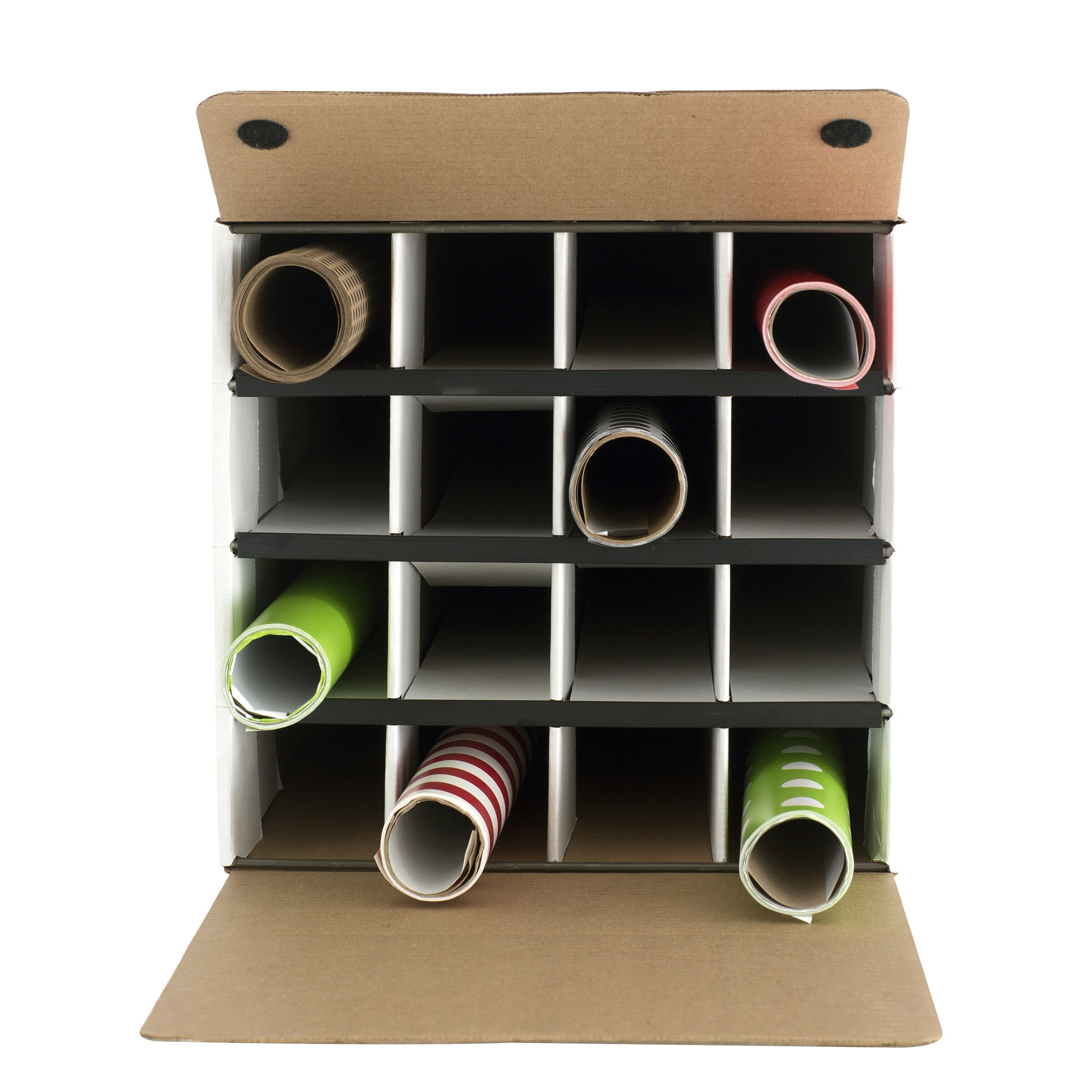 Safco Products Document And Gift Wrap Paper Roll Storage