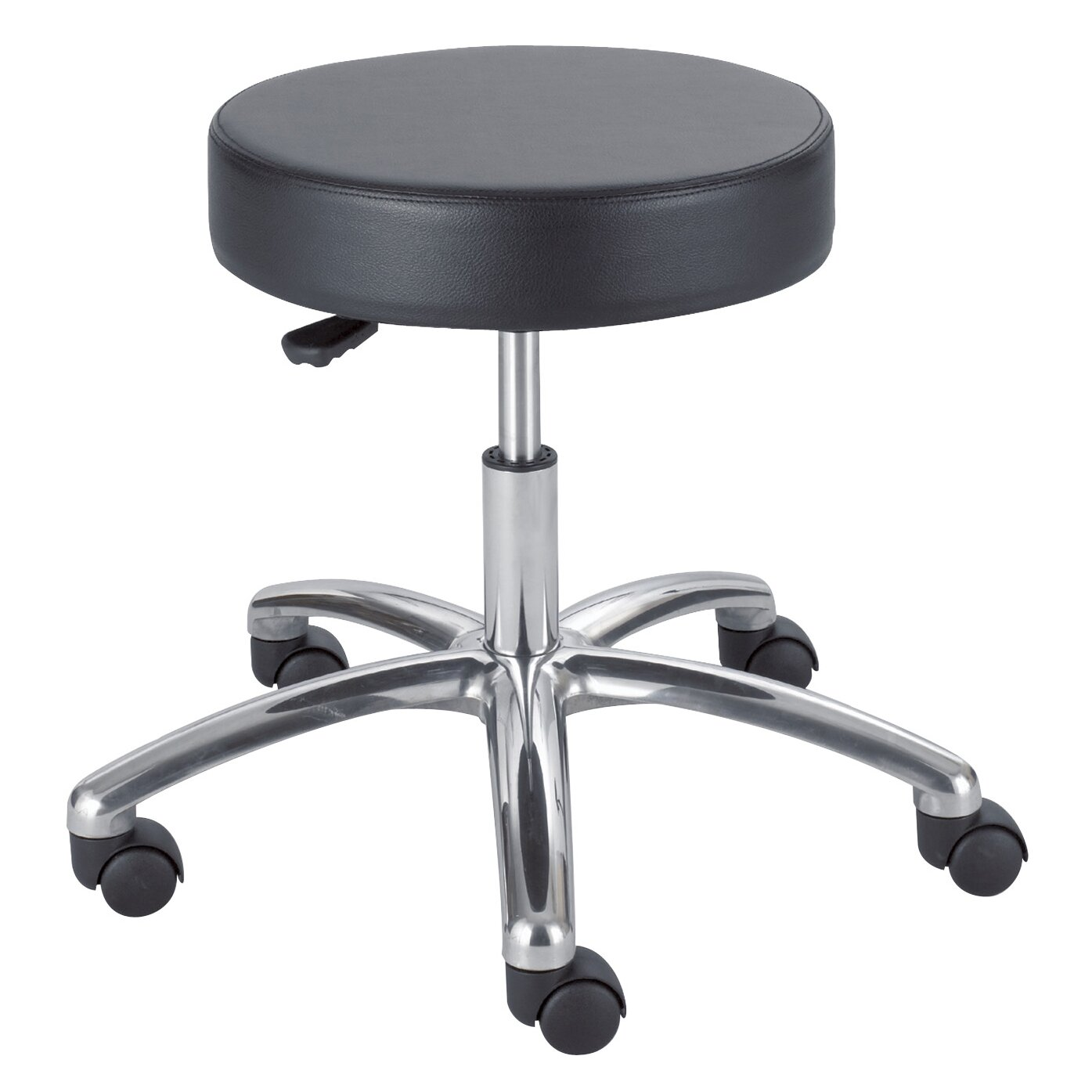 Safco Products Height Adjustable Lab Stool With Casters Reviews Wayfair