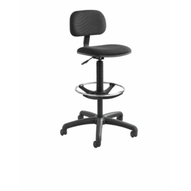 Safco Products Height Adjustable Drafting Chair Reviews Wayfair