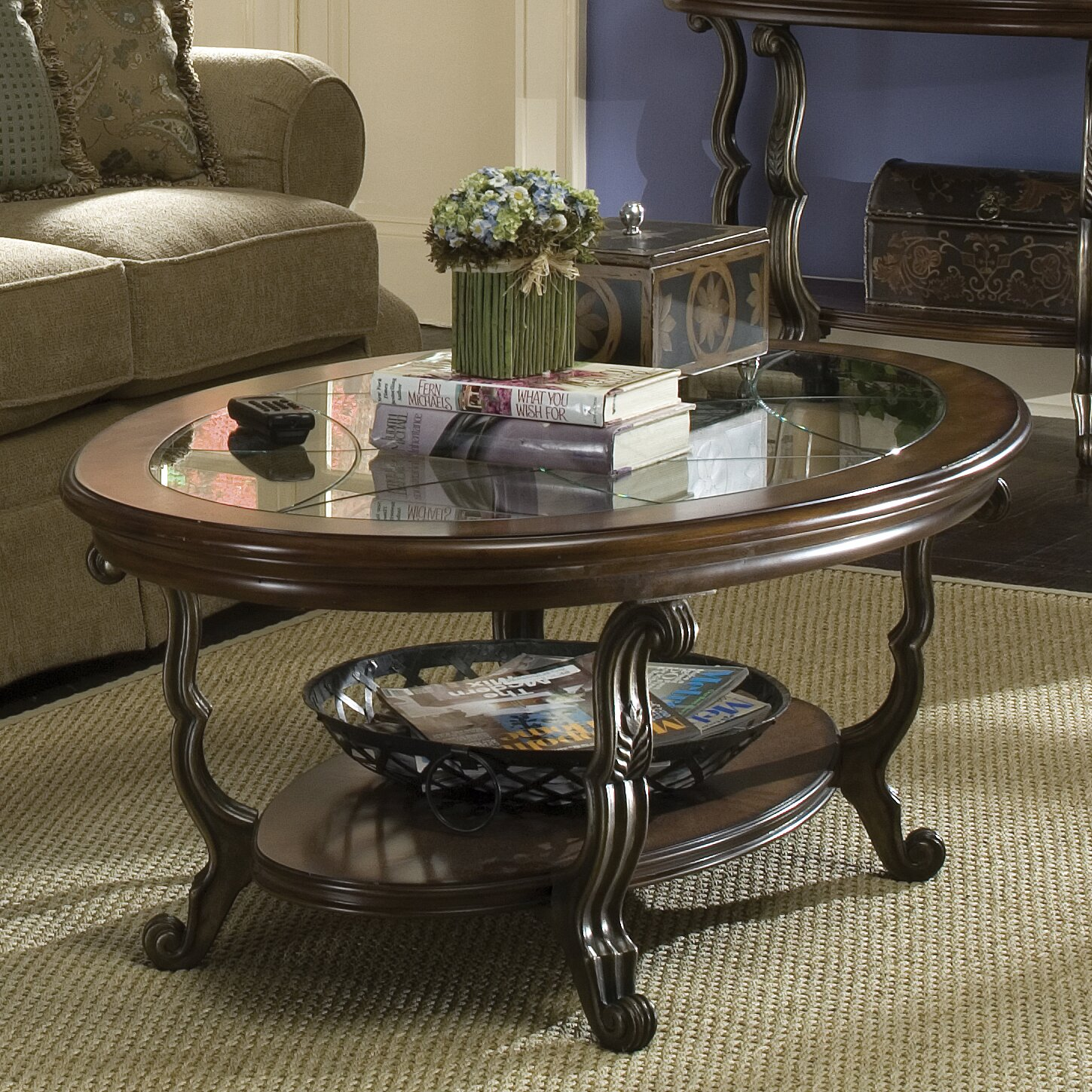 Riverside Furniture Ambrosia Coffee Table Set & Reviews