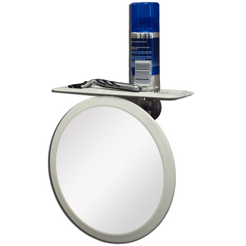 Zadro z 39 fogless ultra ii shaving mirror reviews wayfair for Mirror in a can