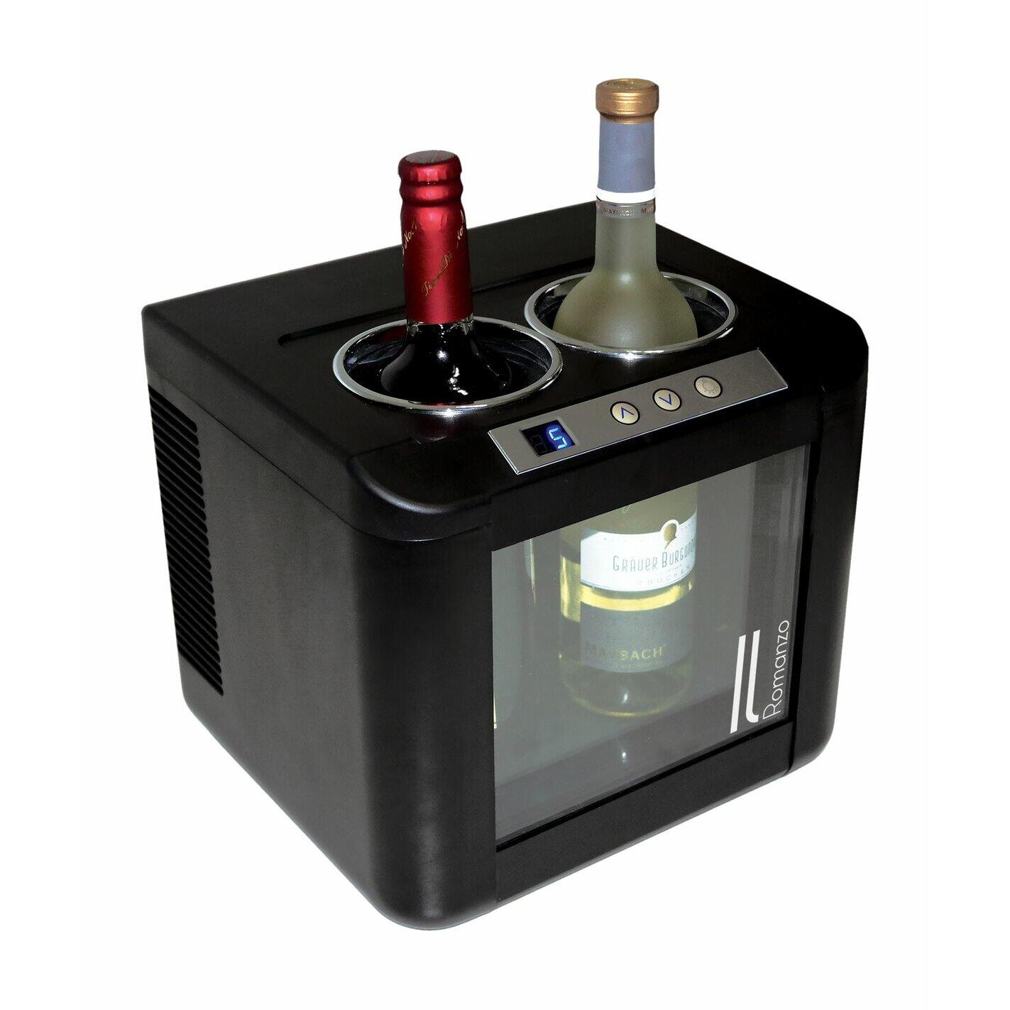 Vinotemp Il Romanzo 2 Bottle Single Zone Freestanding Wine