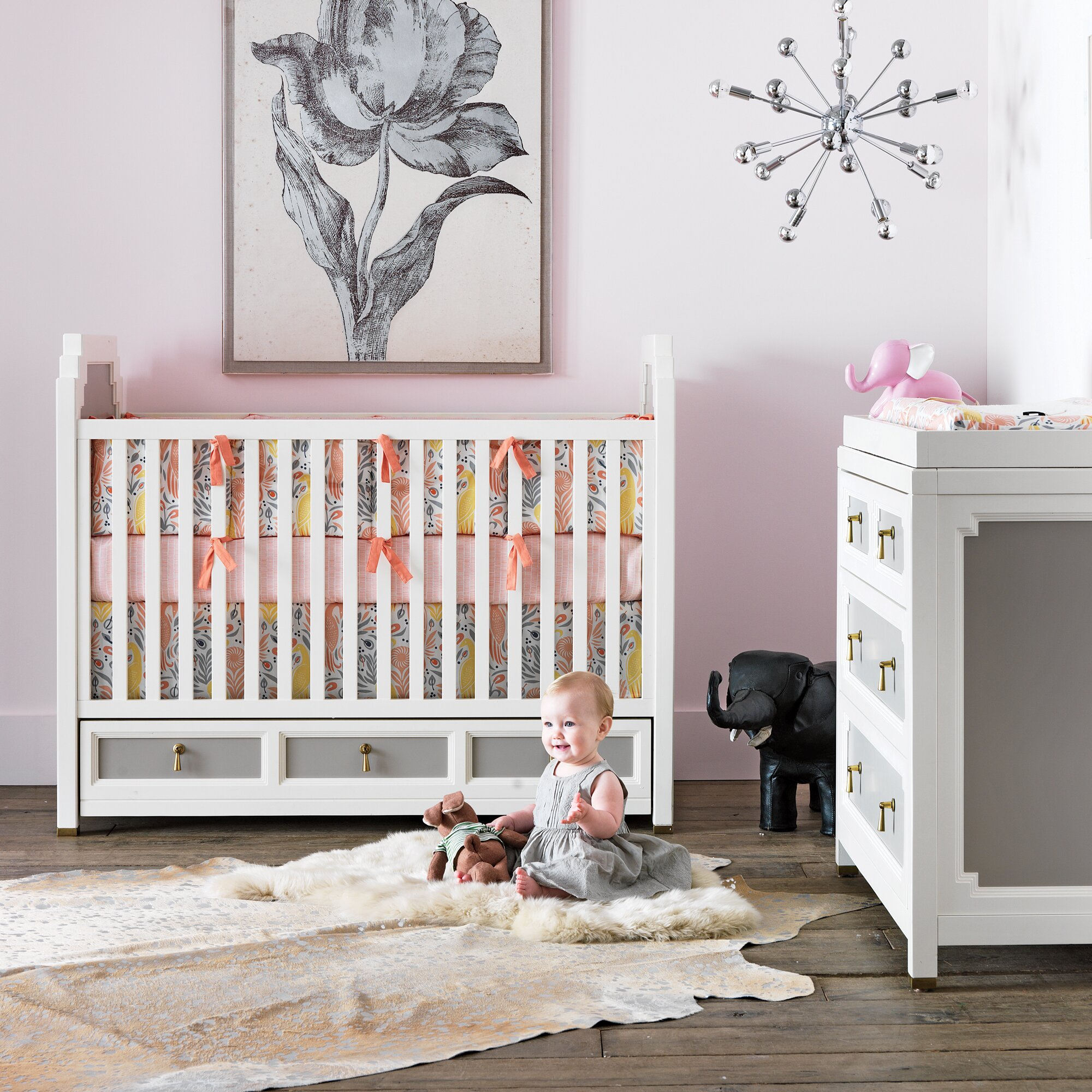dwellstudio boheme nursery bedding collection reviews