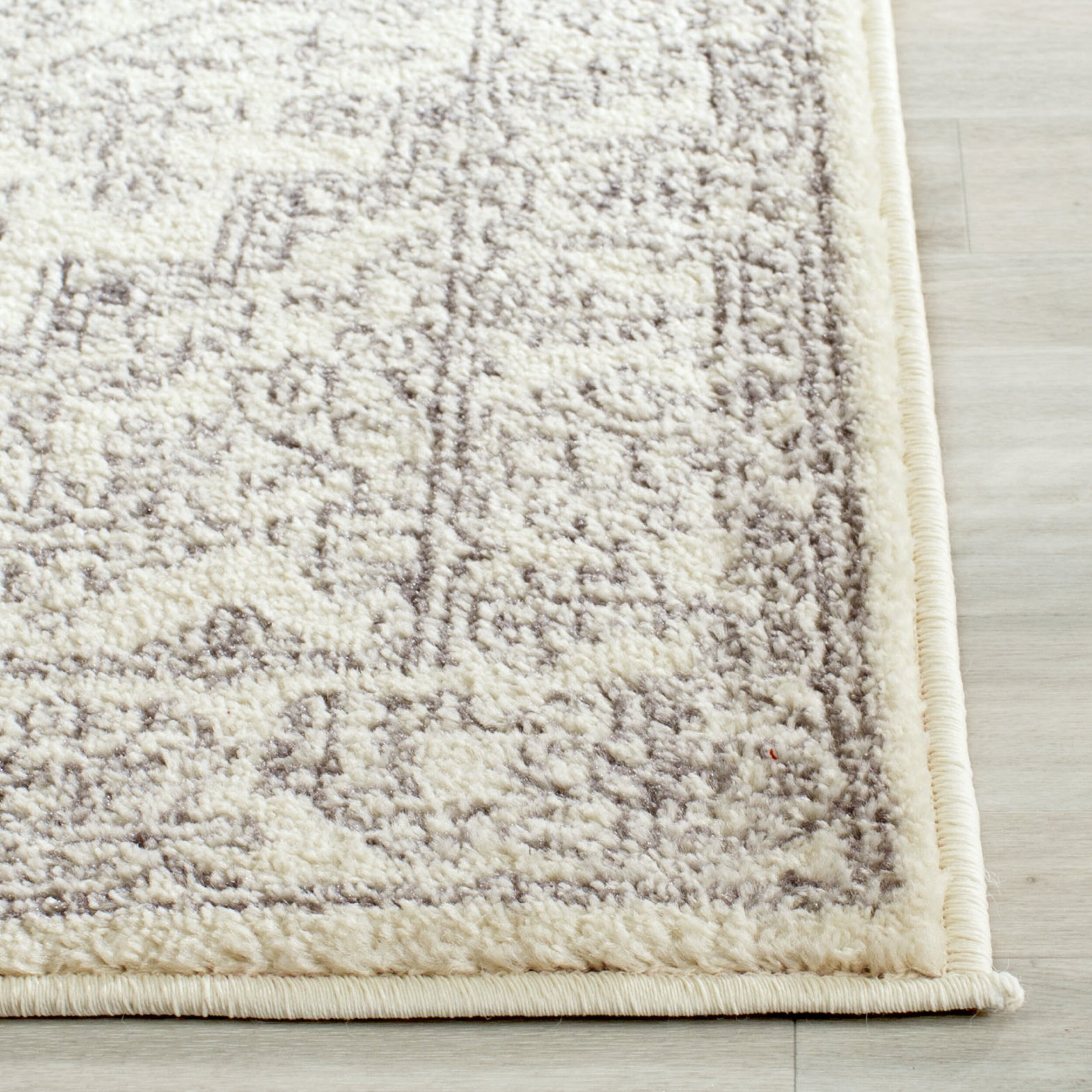 dwellstudio grey white area rug reviews