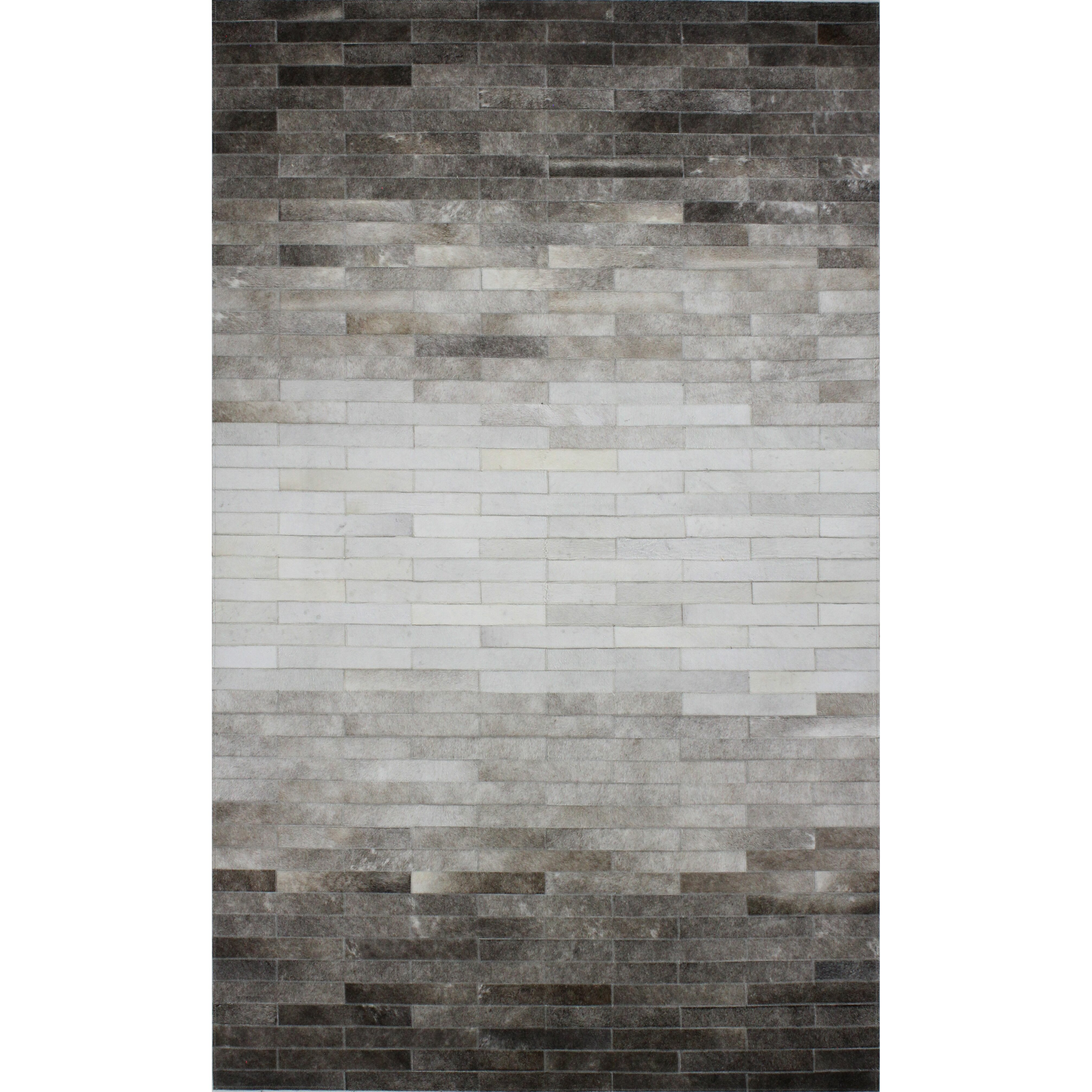 dwellstudio ombre cowhide rug reviews wayfair