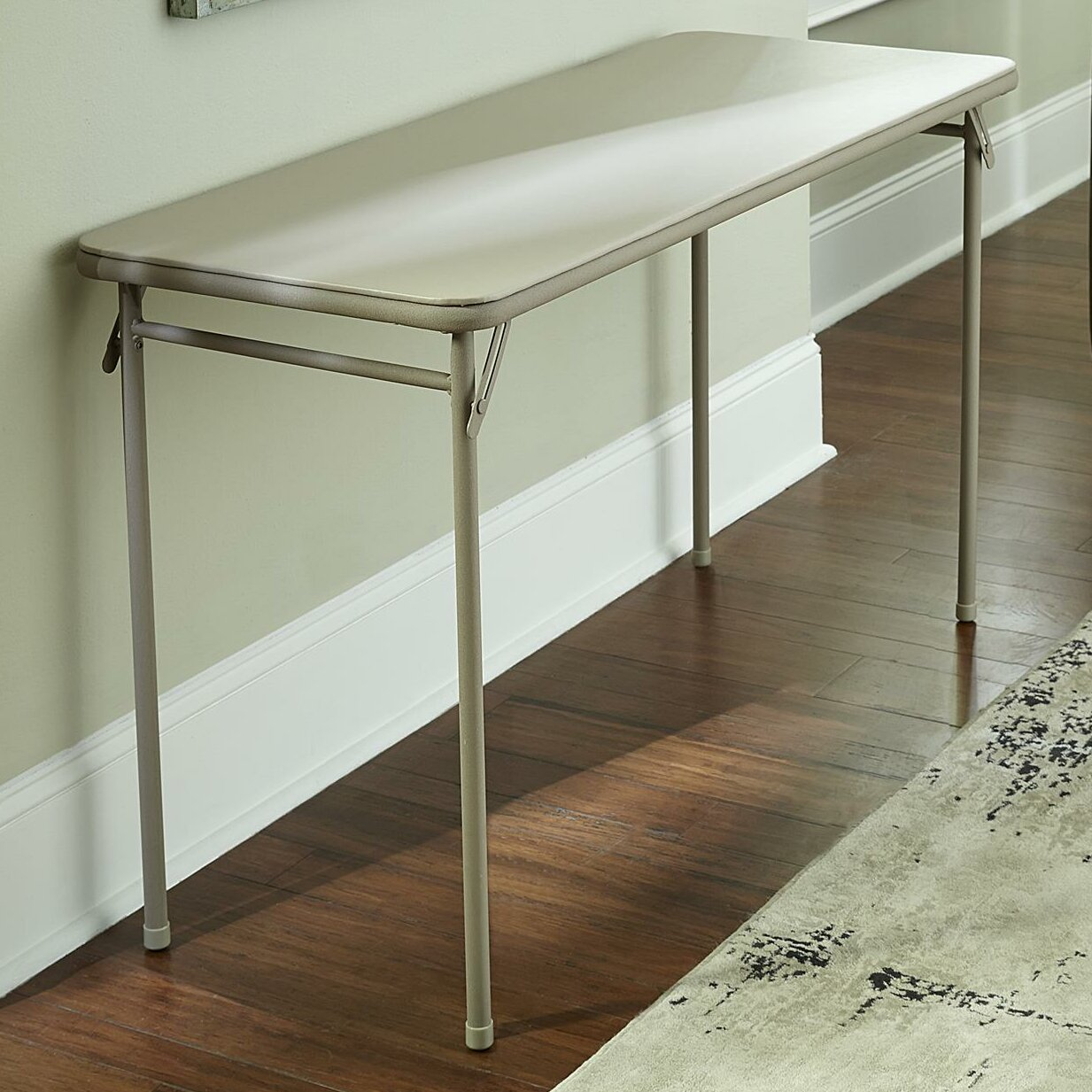 Cosco Home And Office 48 Quot Rectangular Folding Table