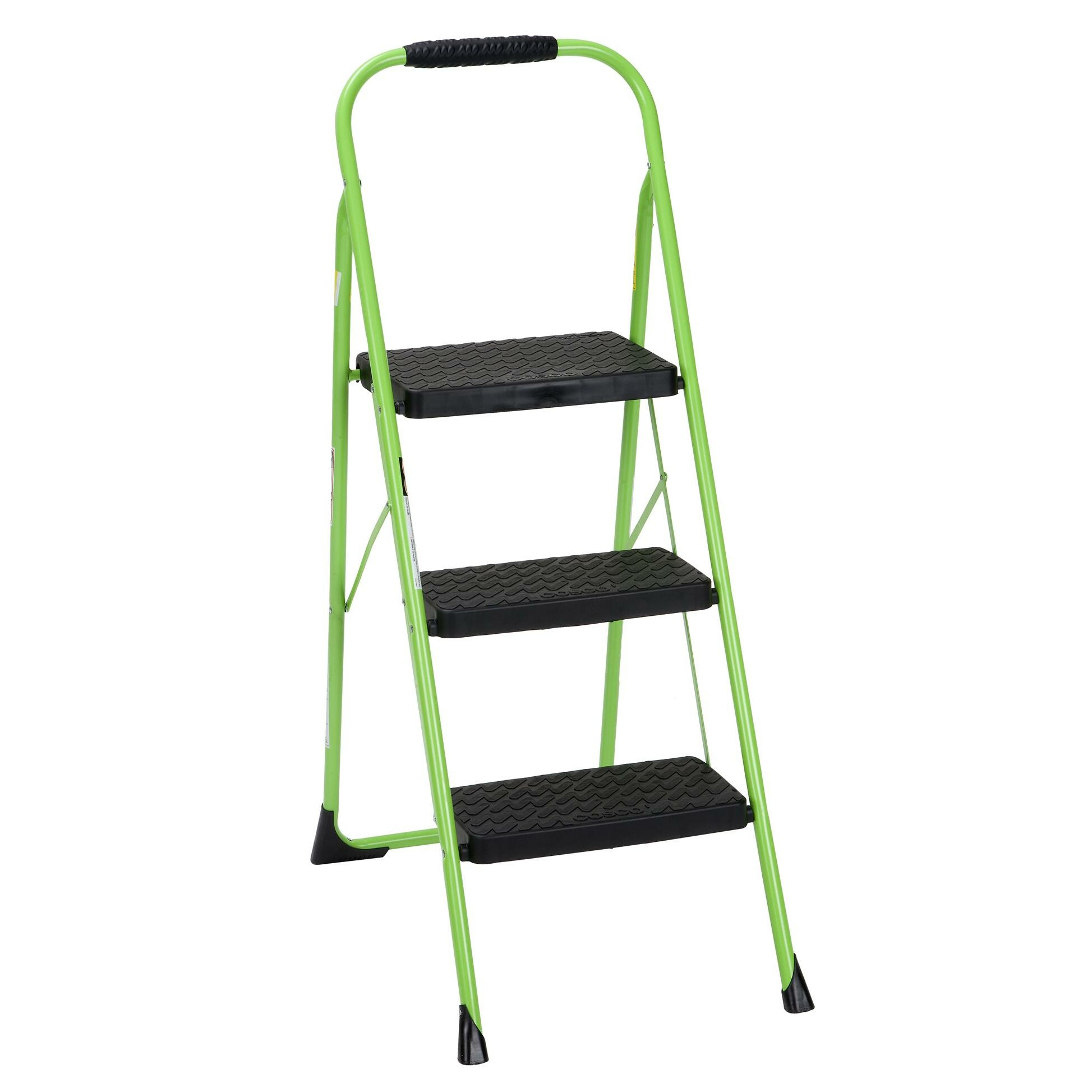 Cosco Home And Office 3 Step Steel Big Folding Step Stool