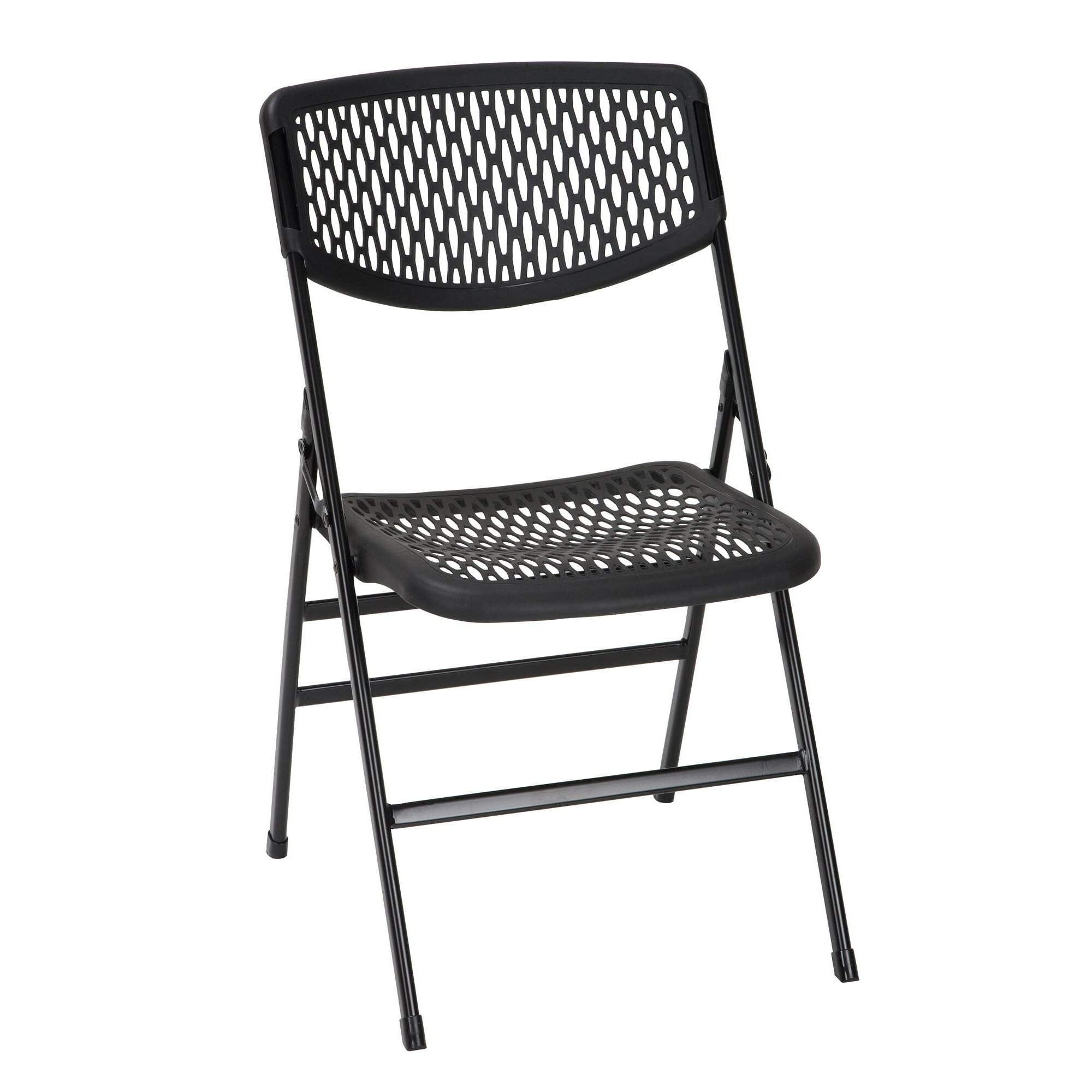 Cosco Home and fice mercial Resin Mesh Folding Chair & Reviews