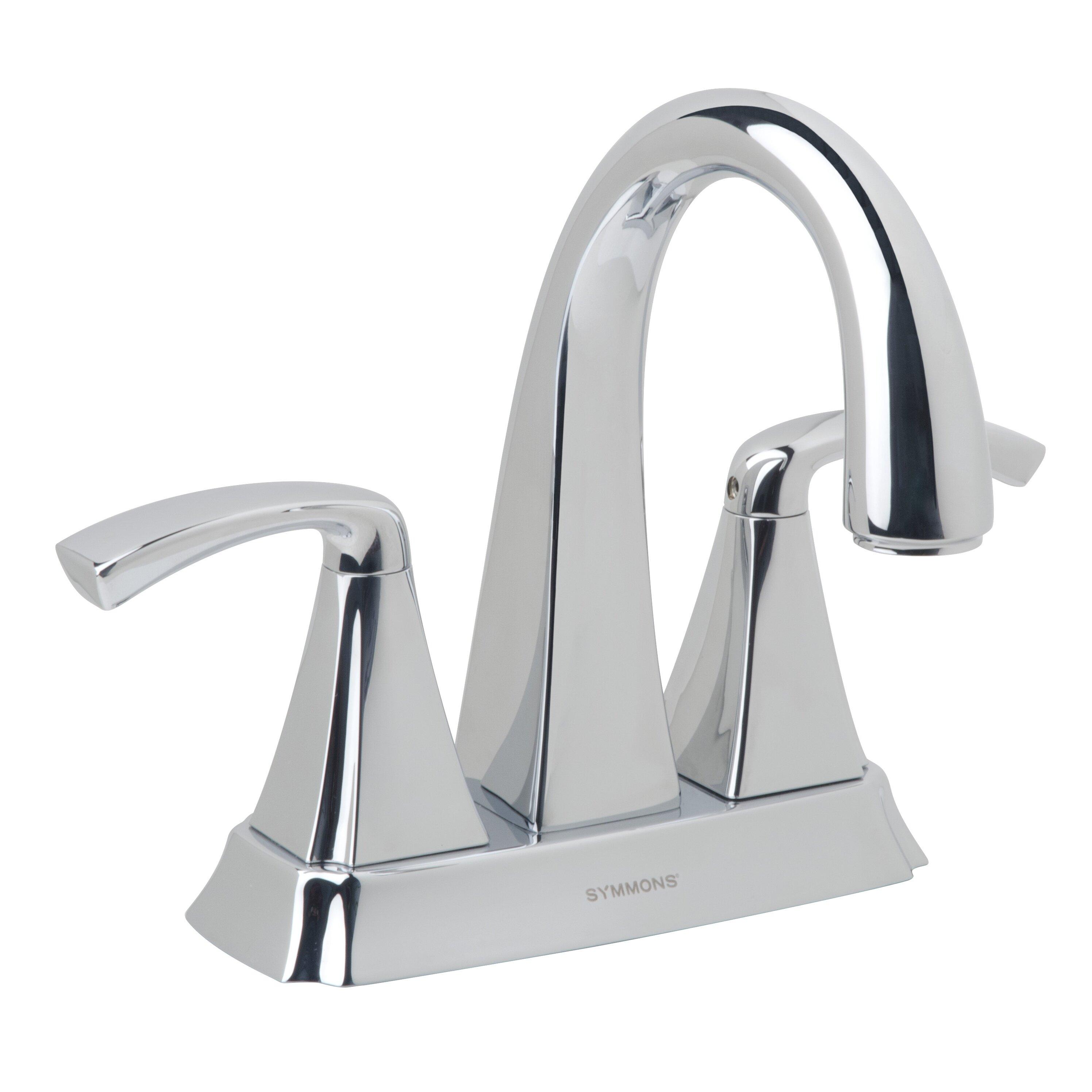 symmons bramwell handle centerset bathroom faucet