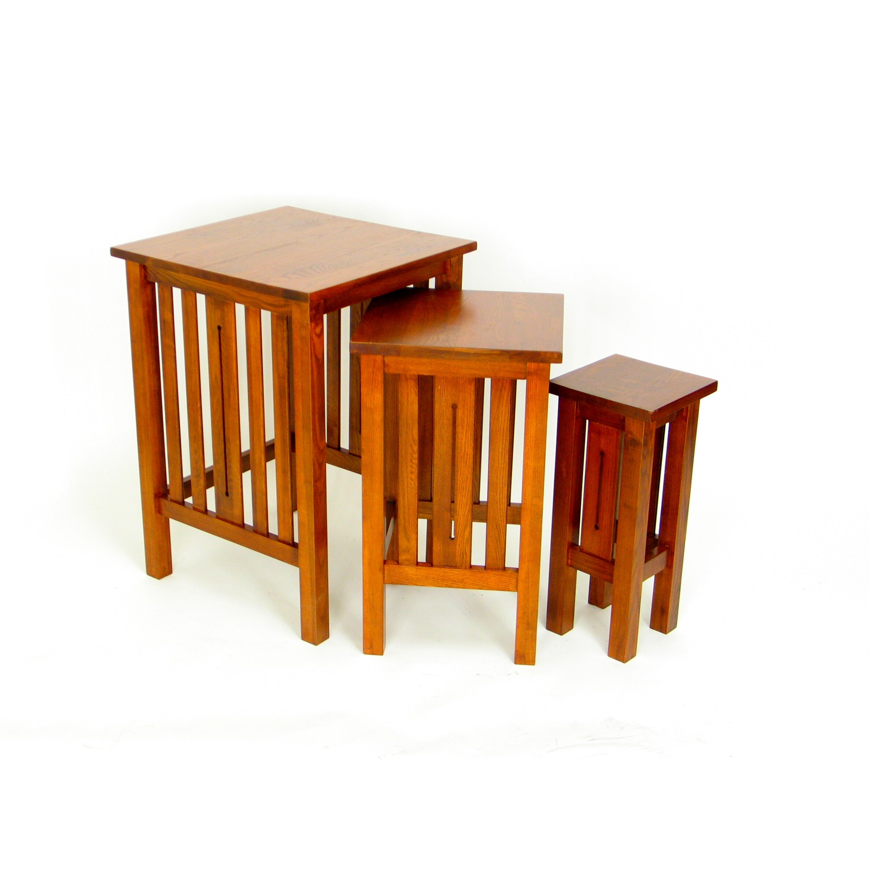 wayborn jones 3 piece nesting tables reviews wayfair. Black Bedroom Furniture Sets. Home Design Ideas