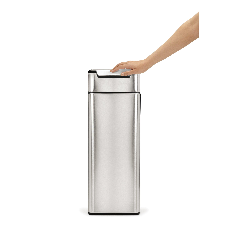 Simplehuman 10 5 Gallon Slim Rectangular Touch Bar