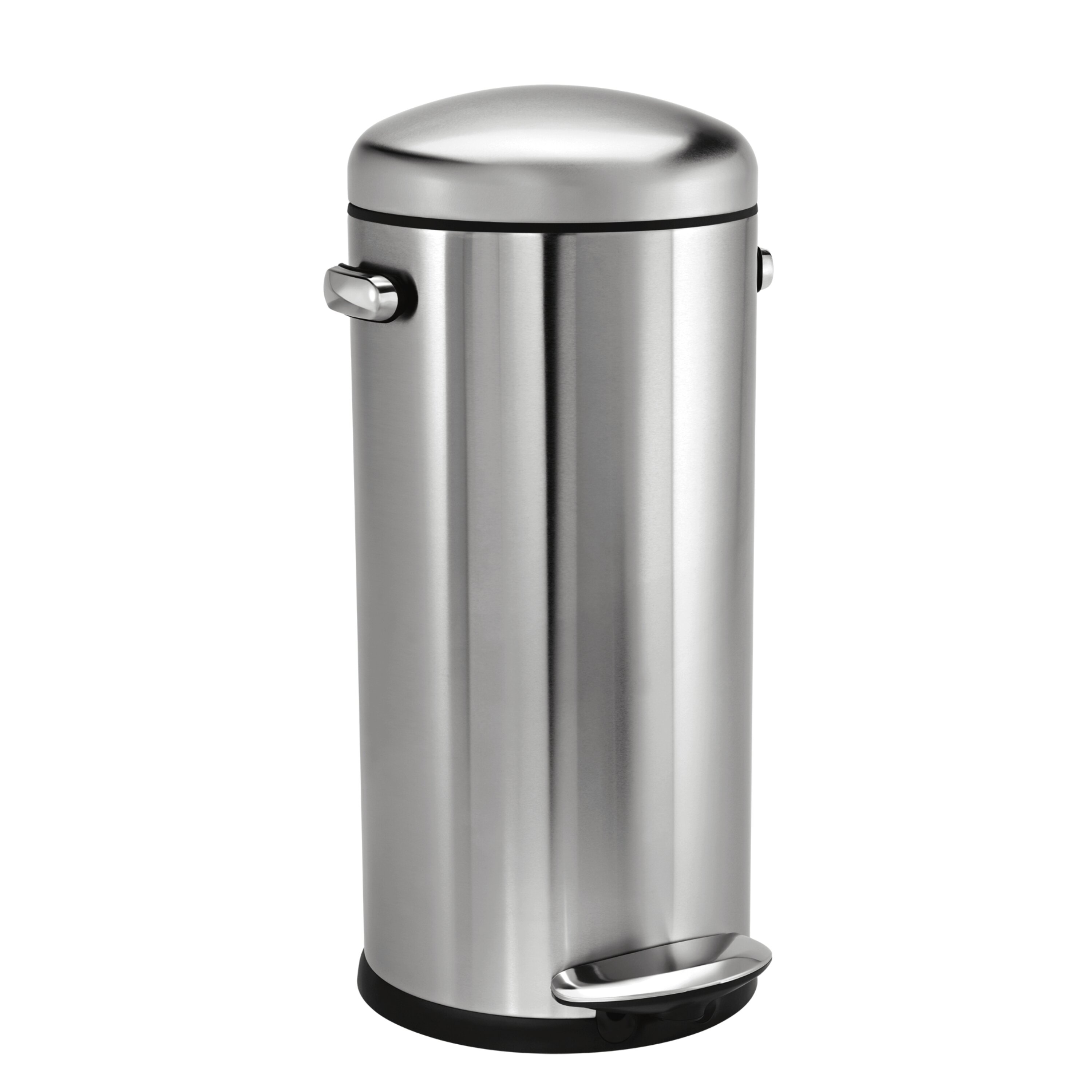 simplehuman 7 9 gal retro step trash can wayfair. Black Bedroom Furniture Sets. Home Design Ideas