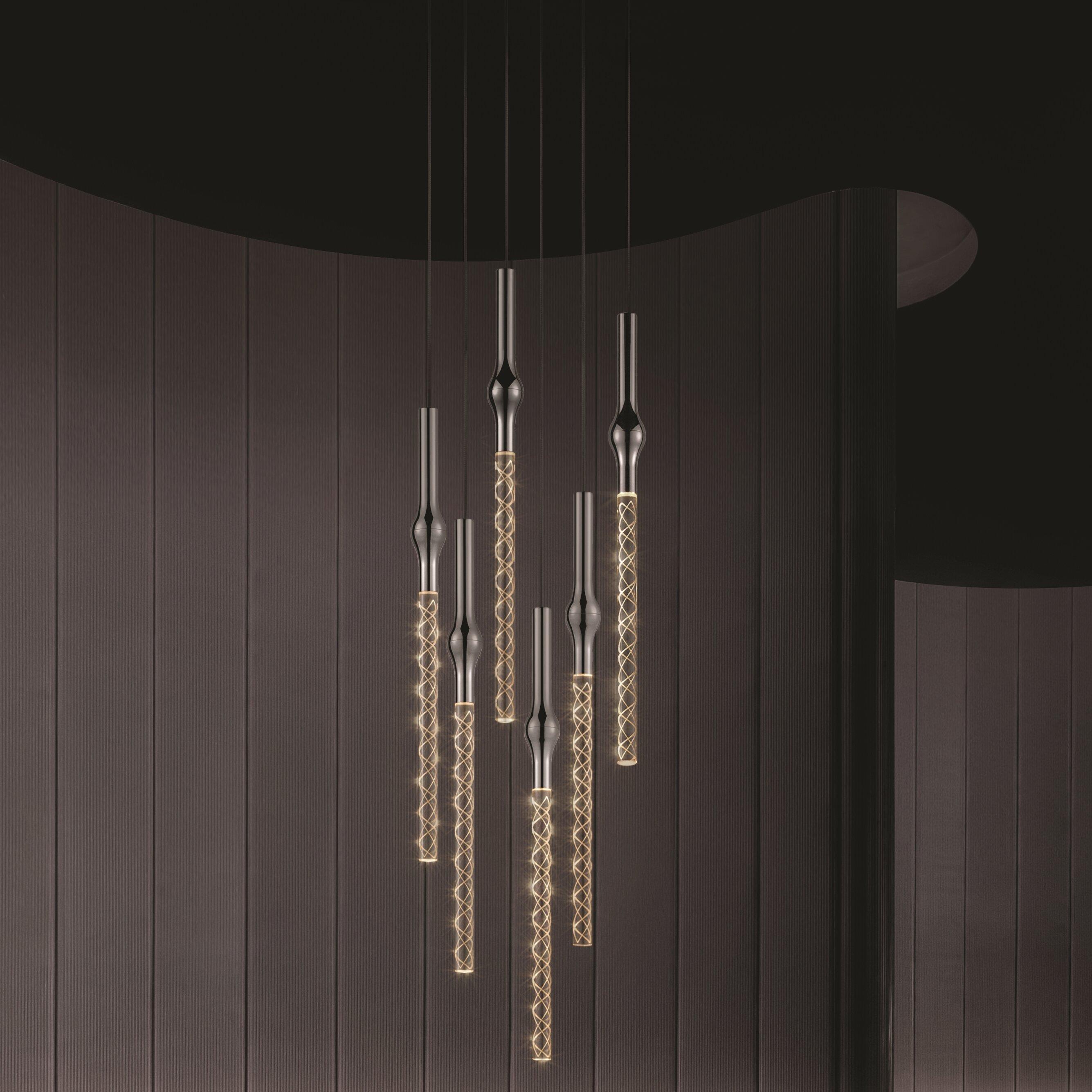 Light Cascade Pendant In Living Room