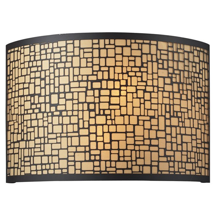 Elk Lighting Medina: Elk Lighting Medina 2 Light Wall Sconce & Reviews