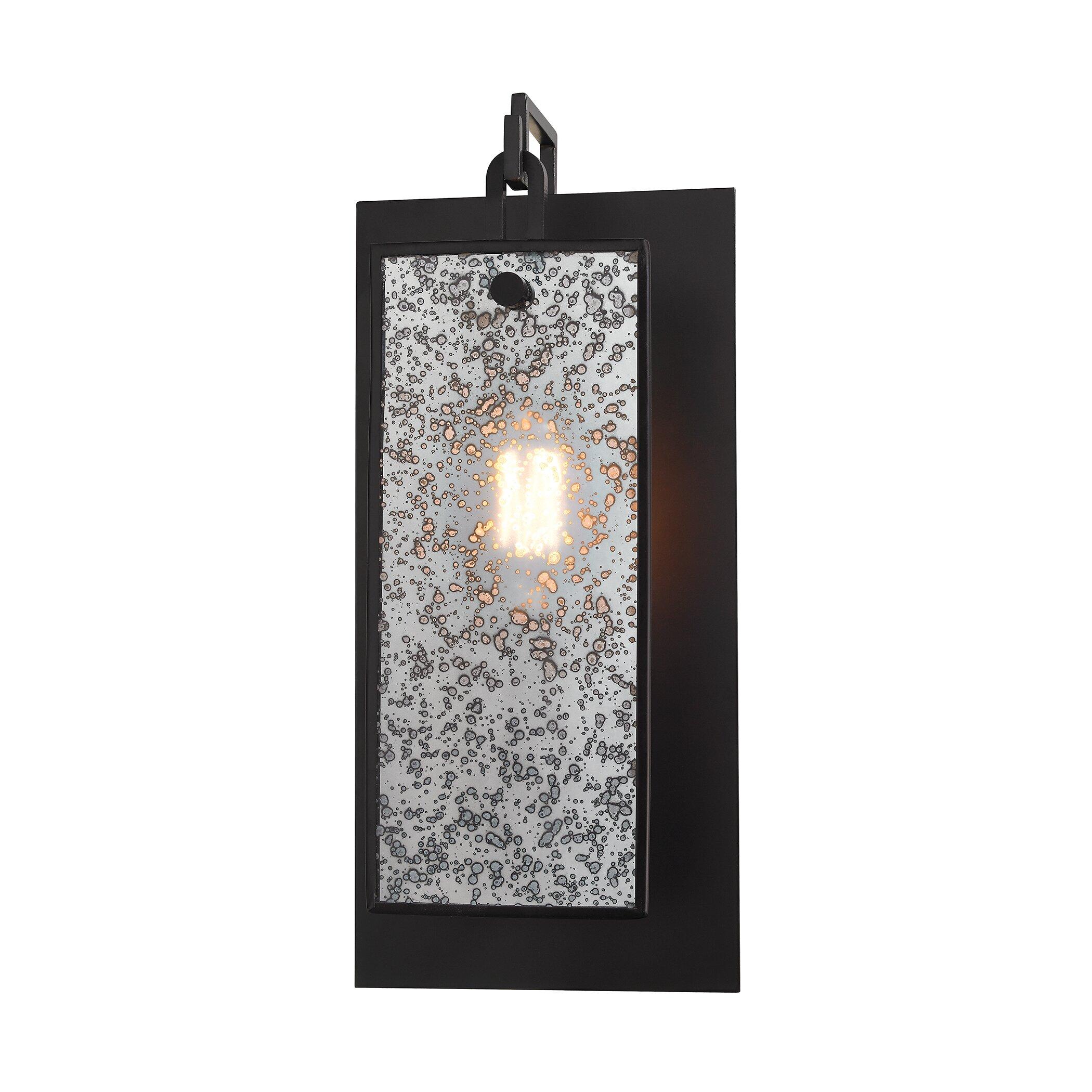Elk Lighting Wall Sconce: Elk Lighting Lindhurst 1 Light Wall Sconce & Reviews