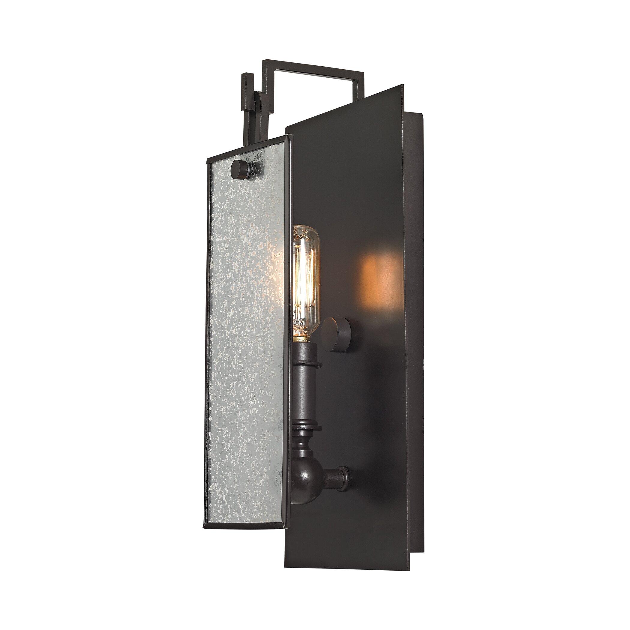 Elk Lighting Sconce: Elk Lighting Lindhurst 1 Light Wall Sconce & Reviews