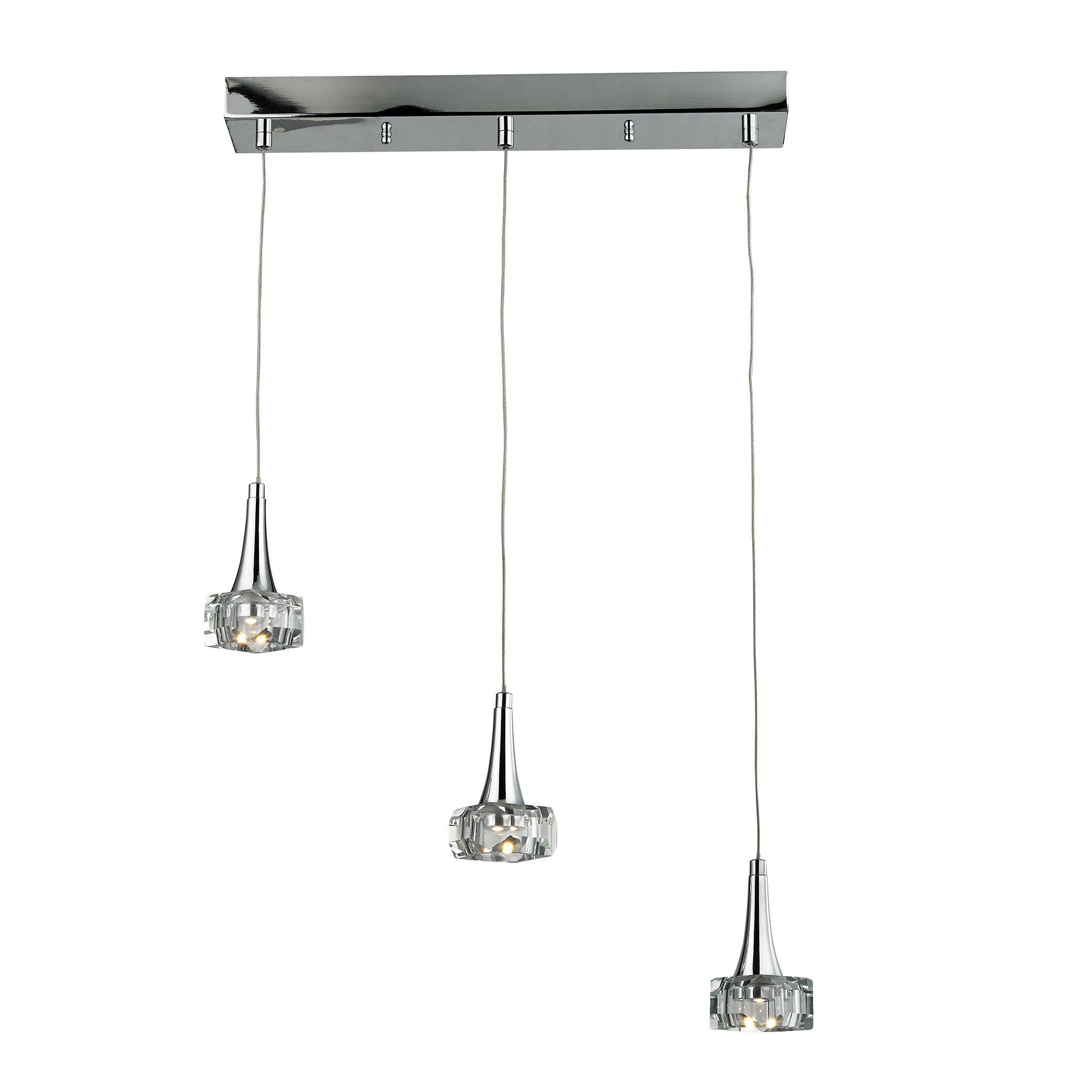 Elk Lighting Alea 3 LED Integrated Bulb Kitchen Island
