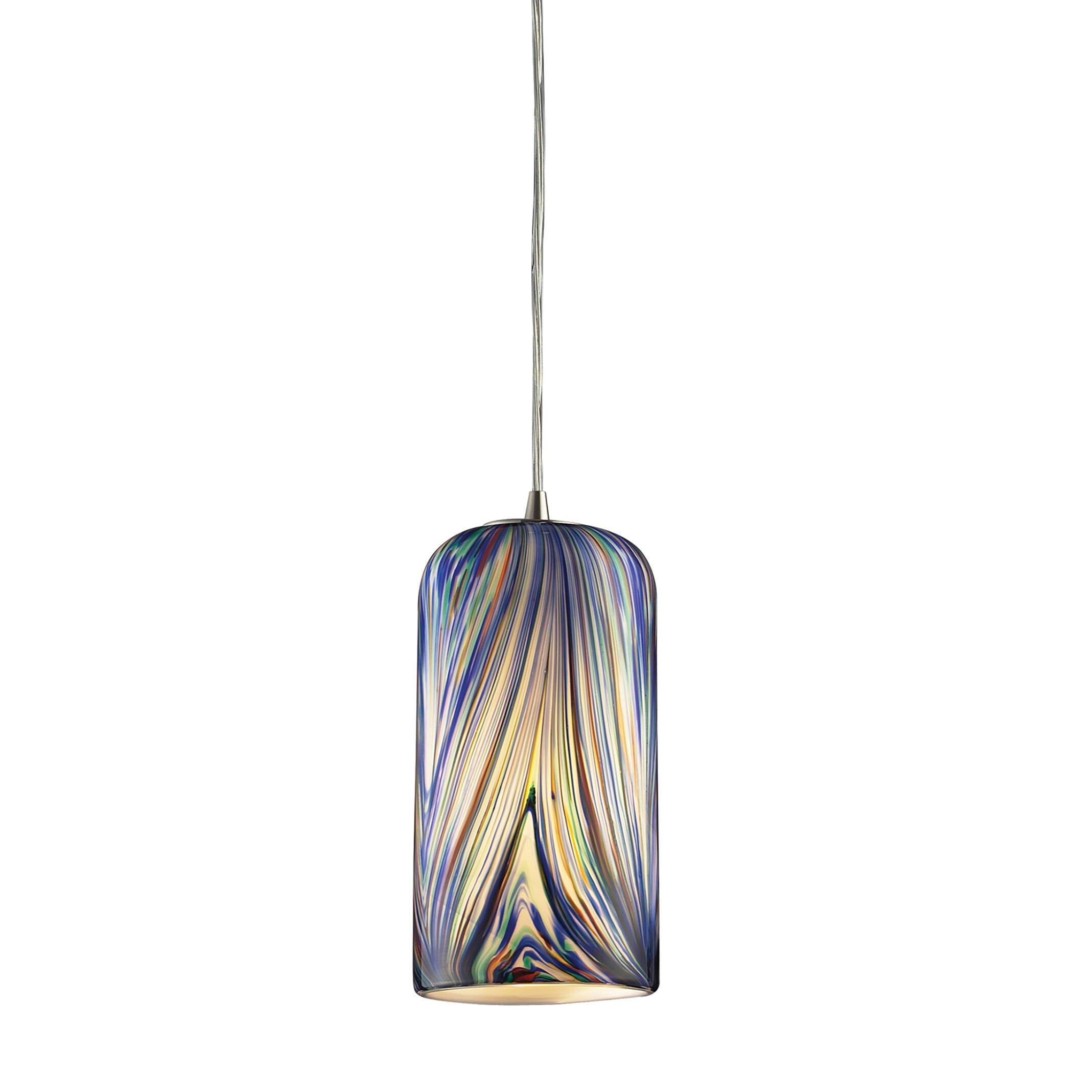 Elk Lighting Molten 1 Light Mini Pendant & Reviews | Wayfair