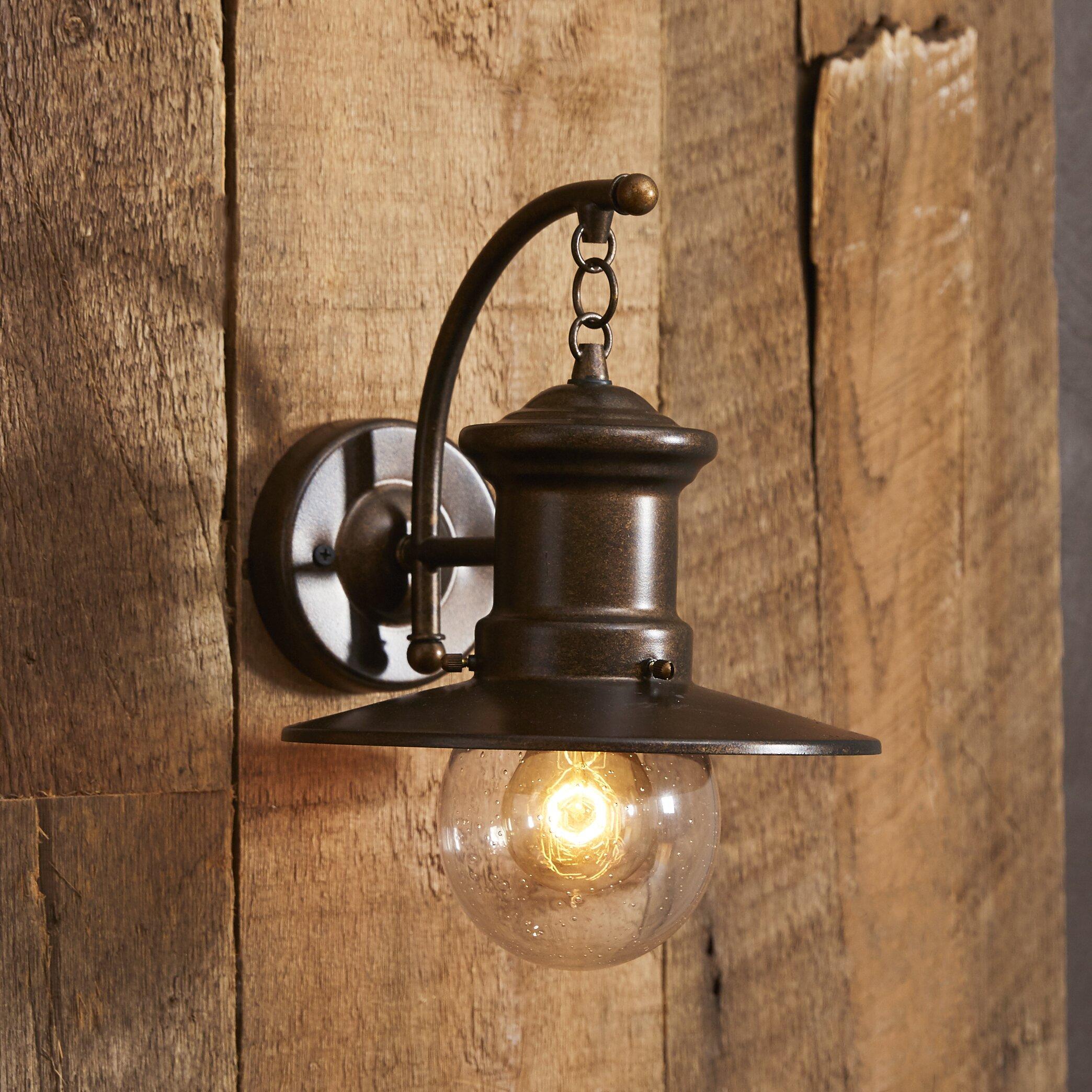 Lighting For Barns: Elk Lighting Maritime 1 Light Outdoor Barn Light & Reviews