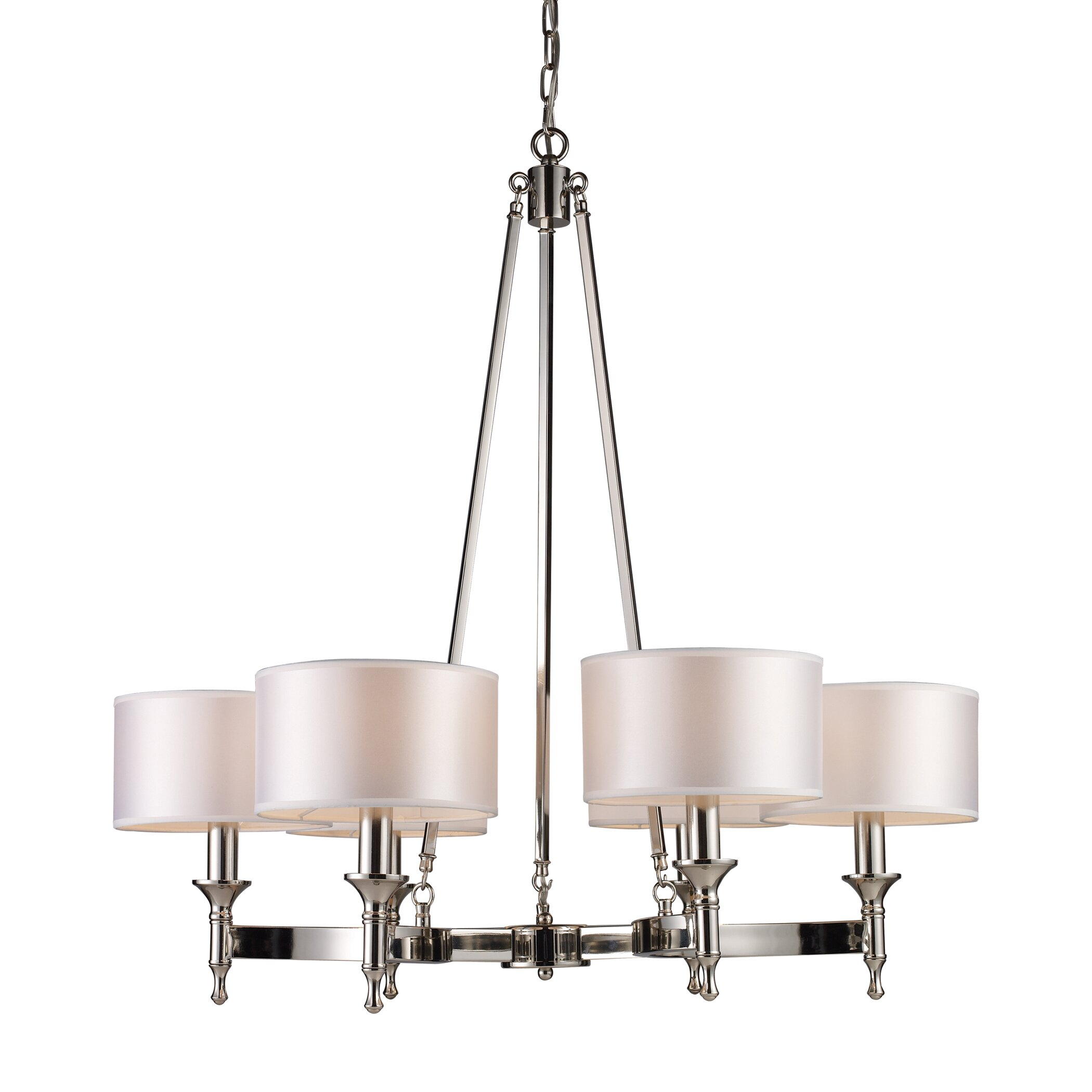 Darby home co watson 6 light drum chandelier reviews - Room chandelier ...