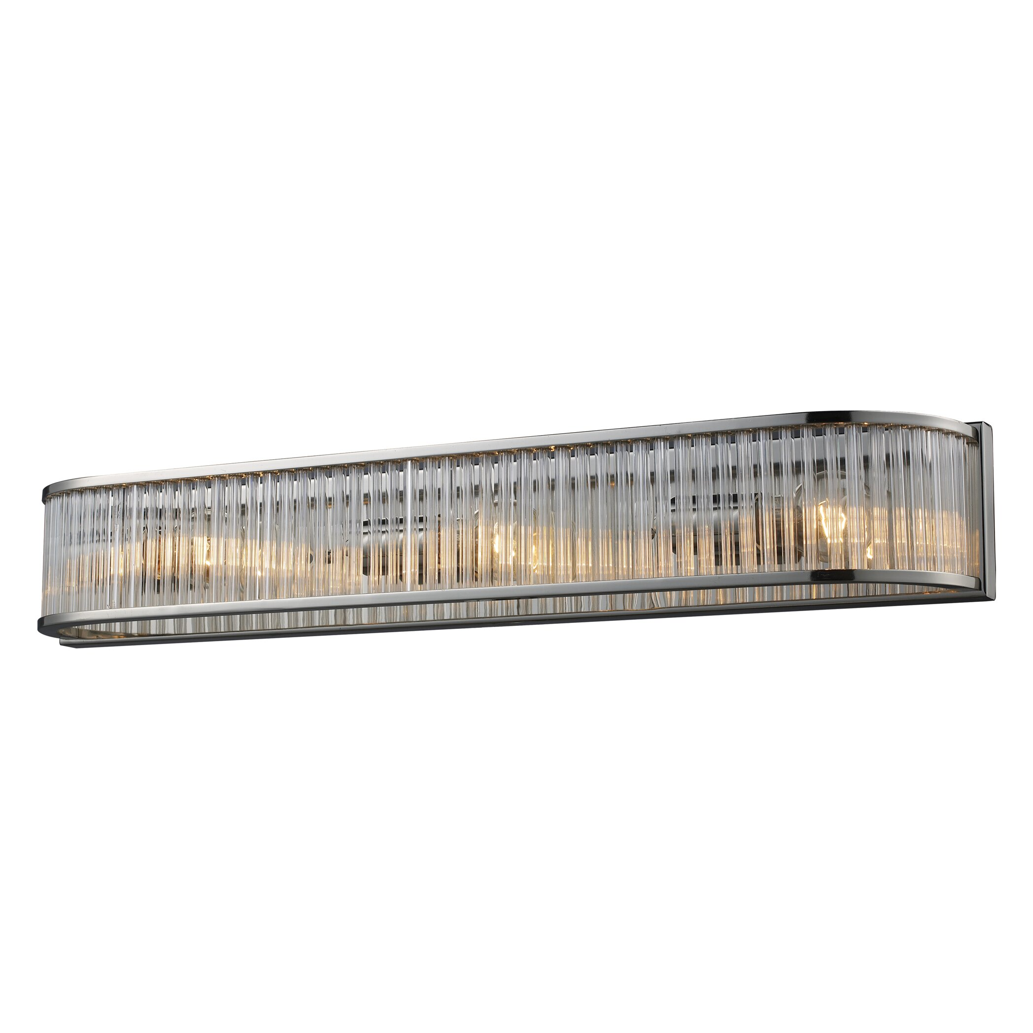 Vanity Light Bar Lowes : Elk Lighting Braxton 3 Light Bath Bar & Reviews Wayfair