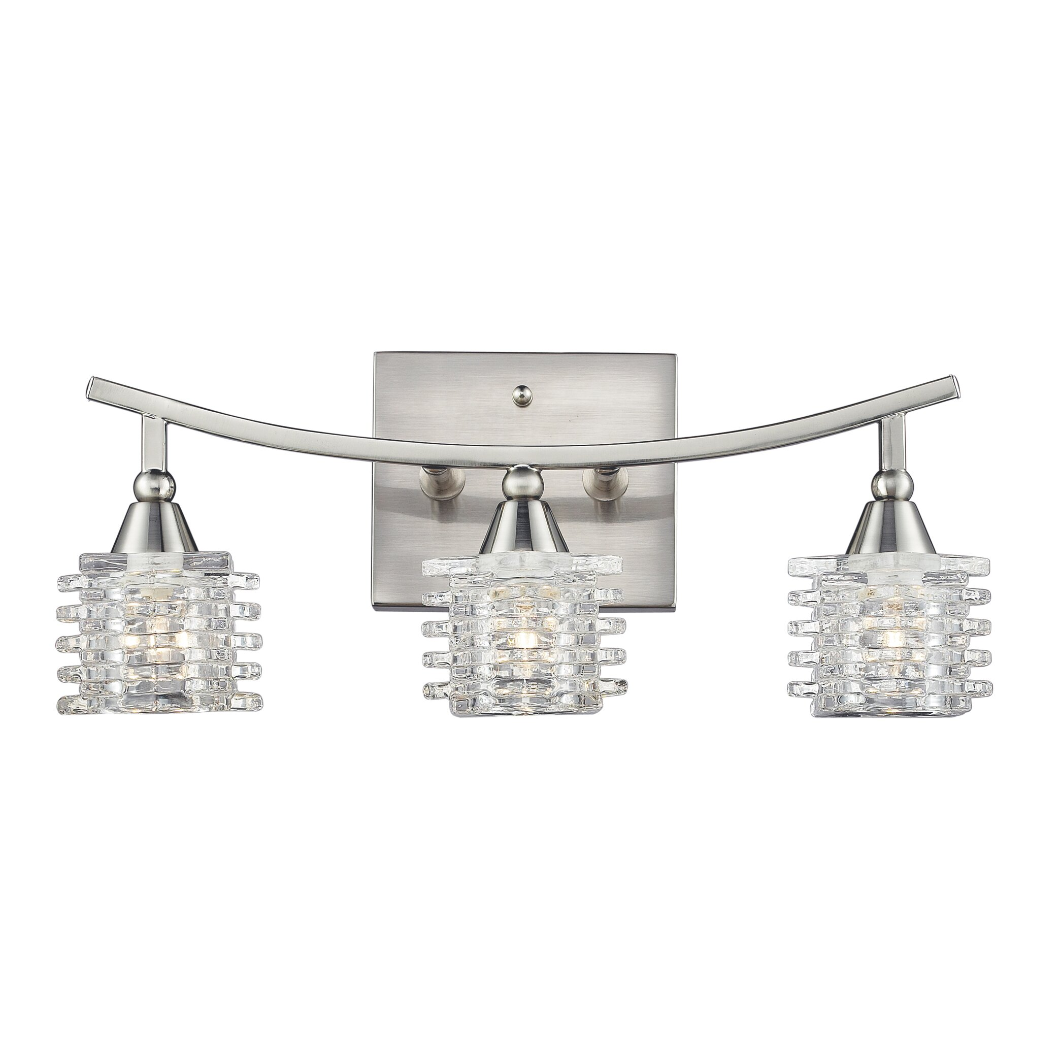 Elk Lighting Matrix 3 Light Bathroom Vanity Light & Reviews