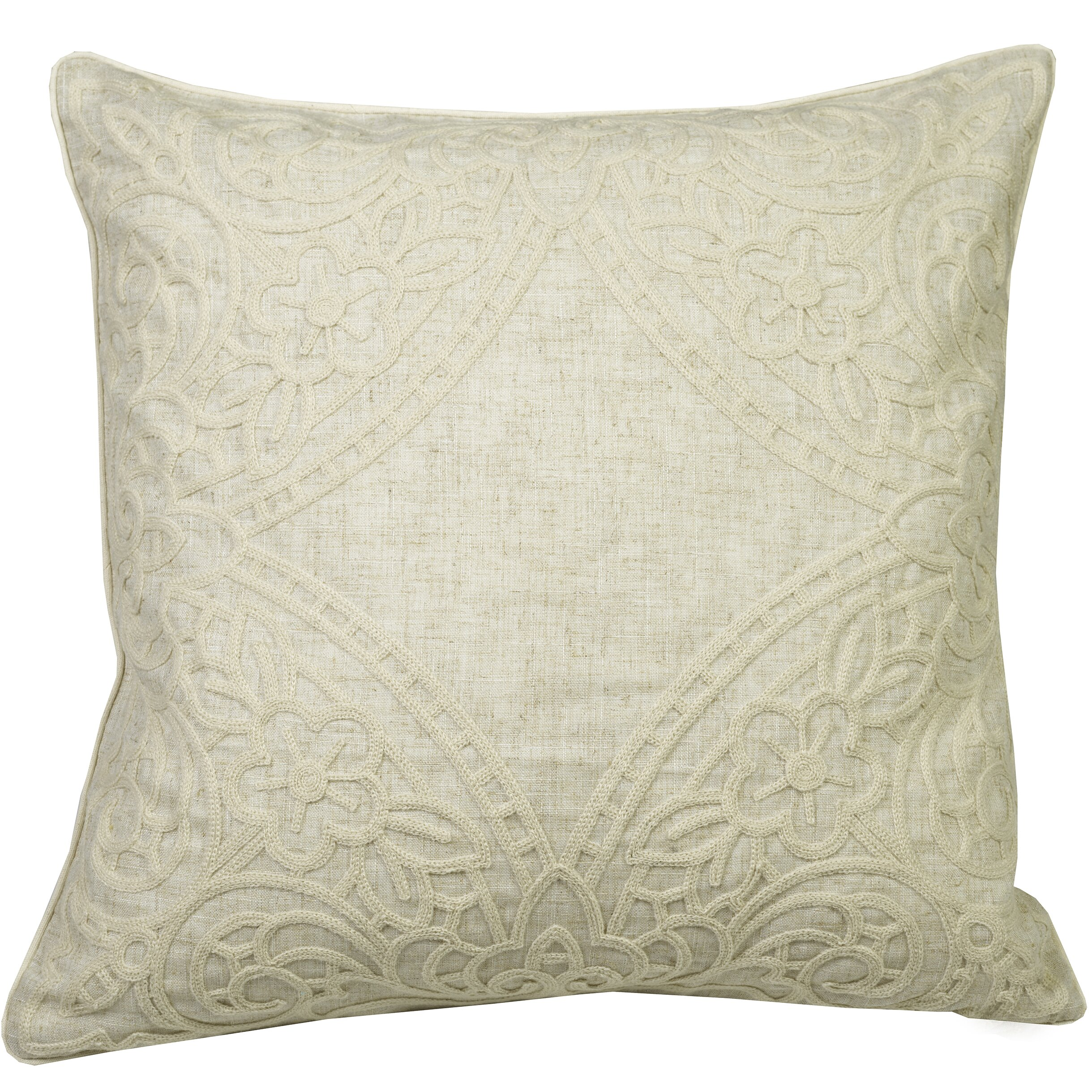 Throw Pillows With Lace : Westex Urban Loft Lace Throw Pillow Wayfair