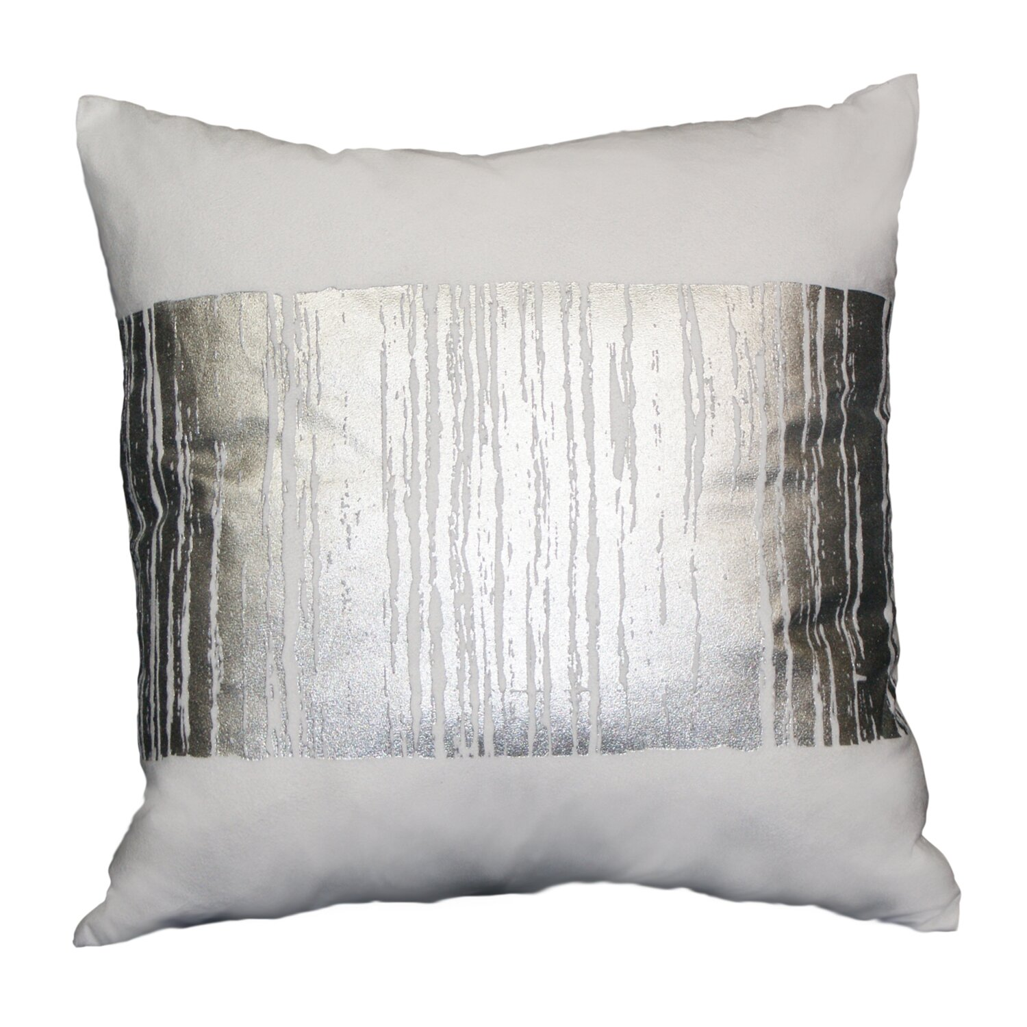 Westex Couch Potatoes Foil Fade Stripe Throw Pillow